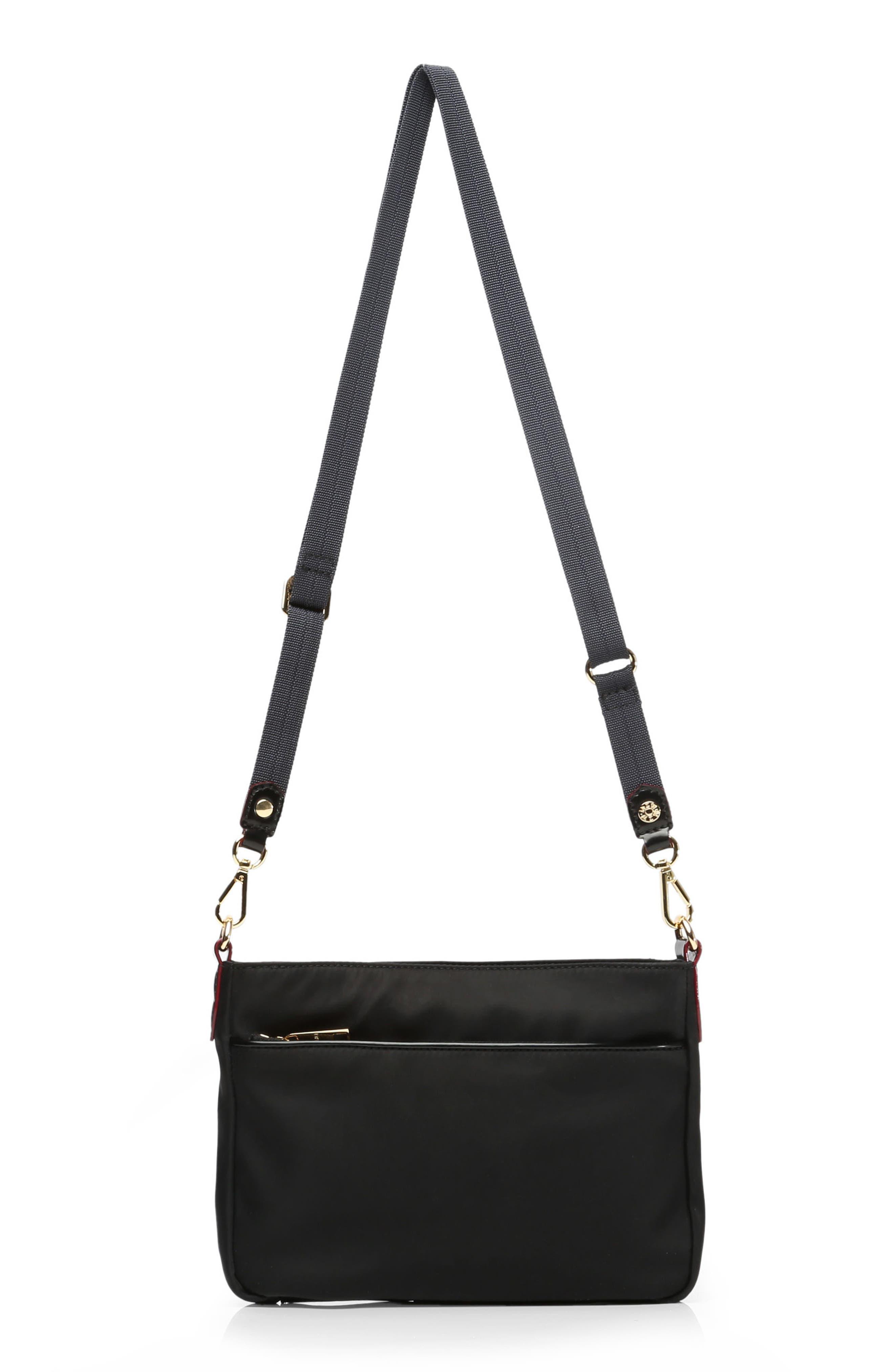 Abbey Crossbody Bag,                             Alternate thumbnail 3, color,                             BLACK BEDFORD