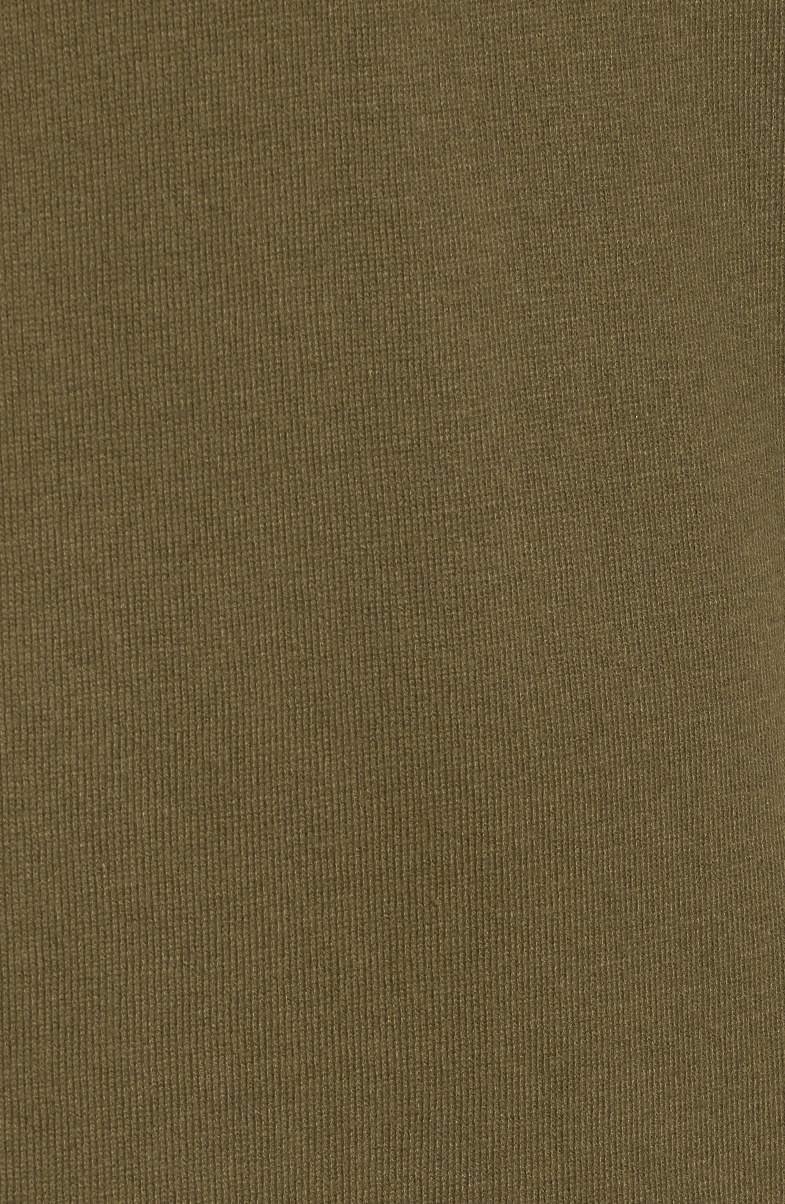 Ruffle Sweater Dress,                             Alternate thumbnail 6, color,