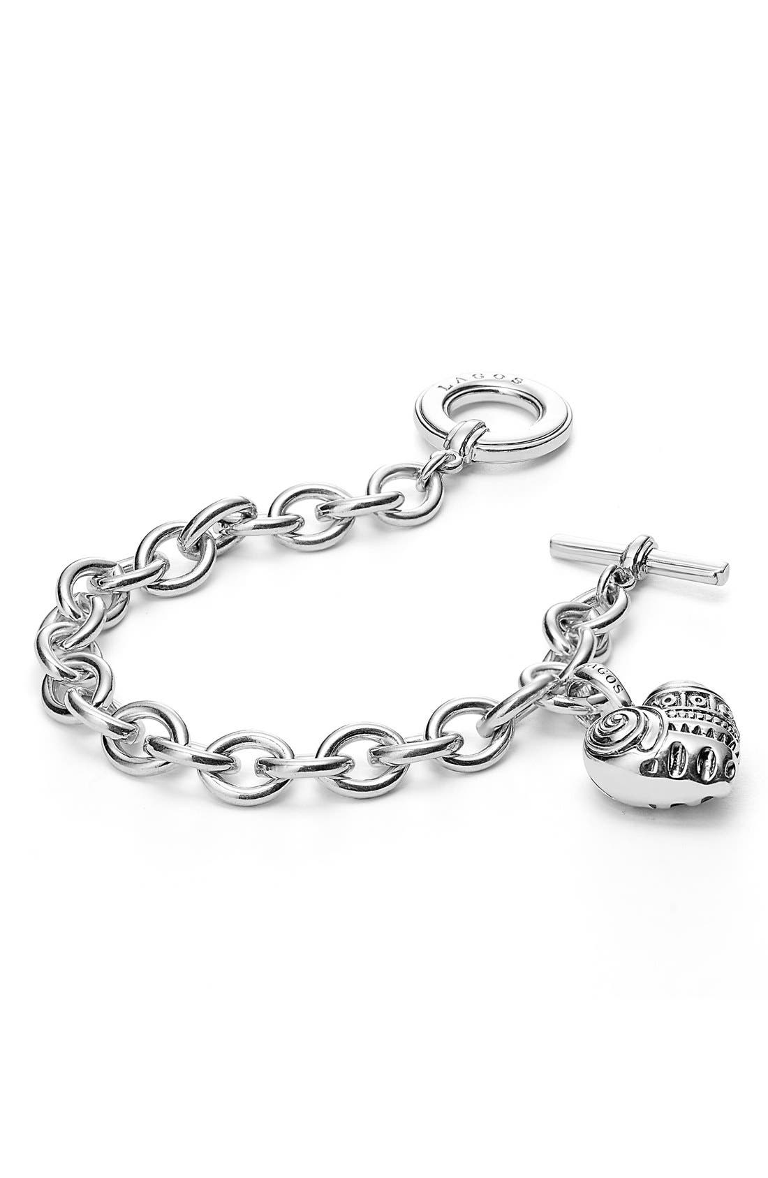 'Hearts of LAGOS' Charm Bracelet,                             Alternate thumbnail 2, color,                             HEART OF PHILADELPHIA
