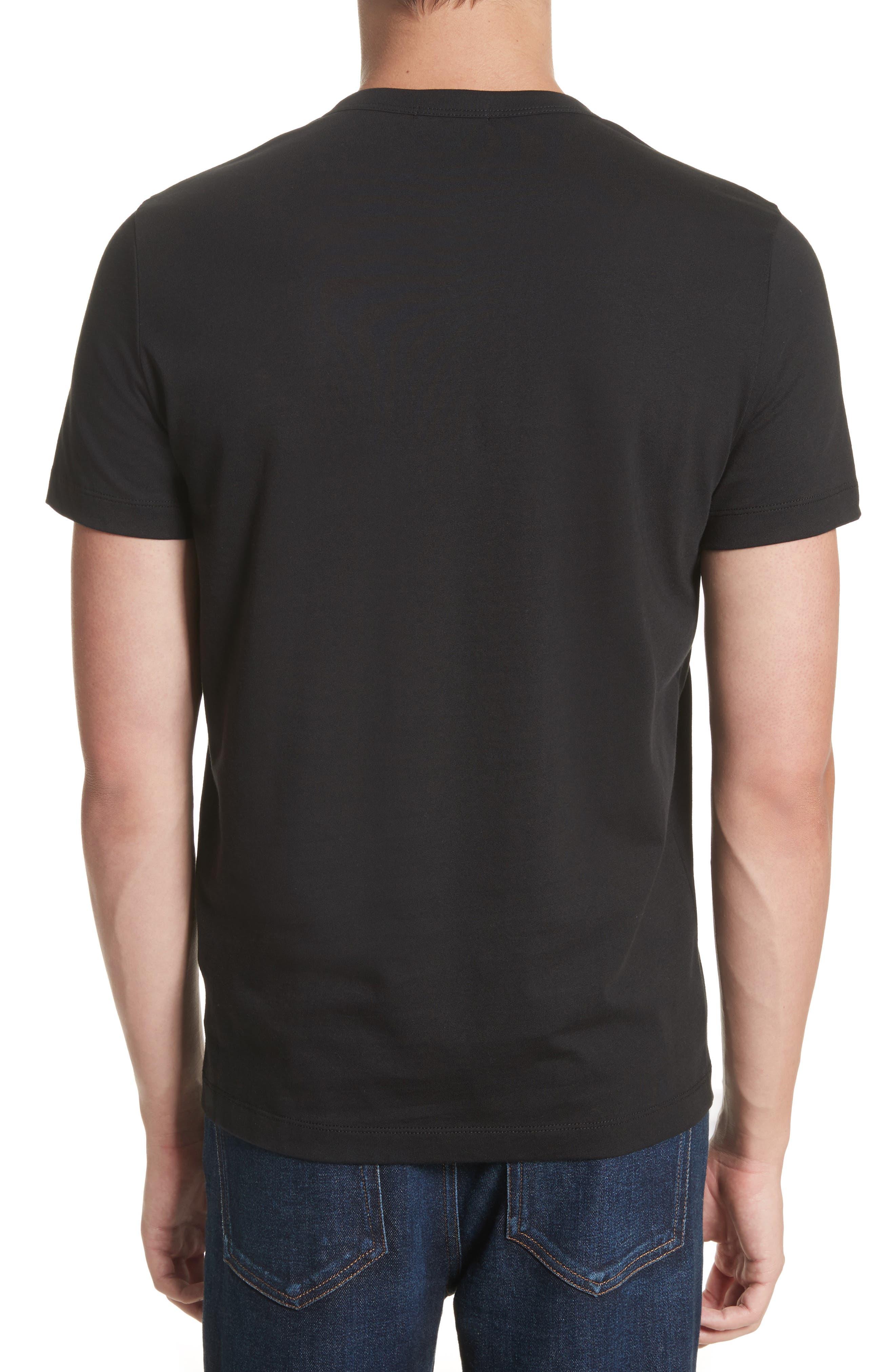 Patch Detail T-Shirt,                             Alternate thumbnail 2, color,                             001