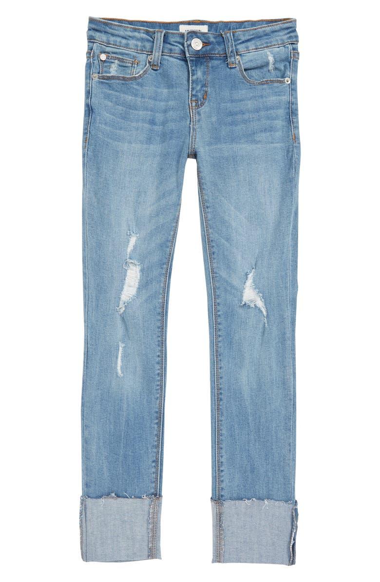 4928e6938 Hudson Kids Kaia Convertible Skinny Jeans (Big Girls)