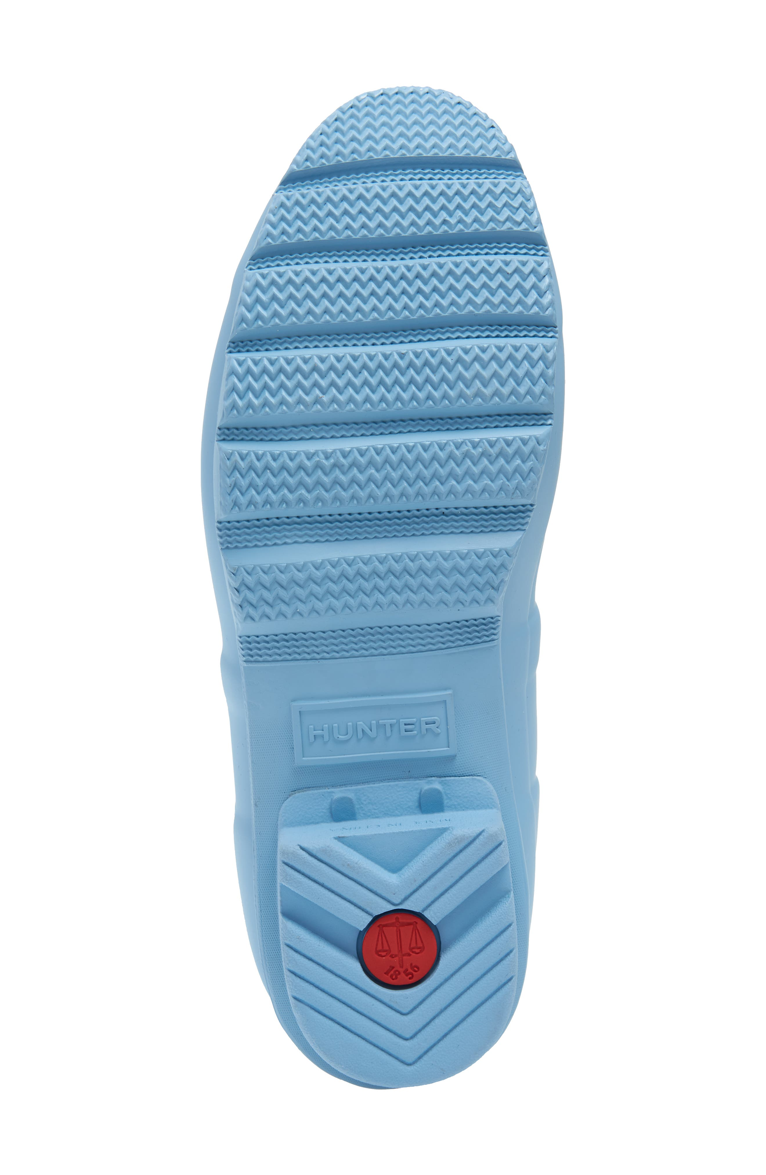 Original Colorblock Knee High Rain Boot,                             Alternate thumbnail 6, color,                             PALE BLUE
