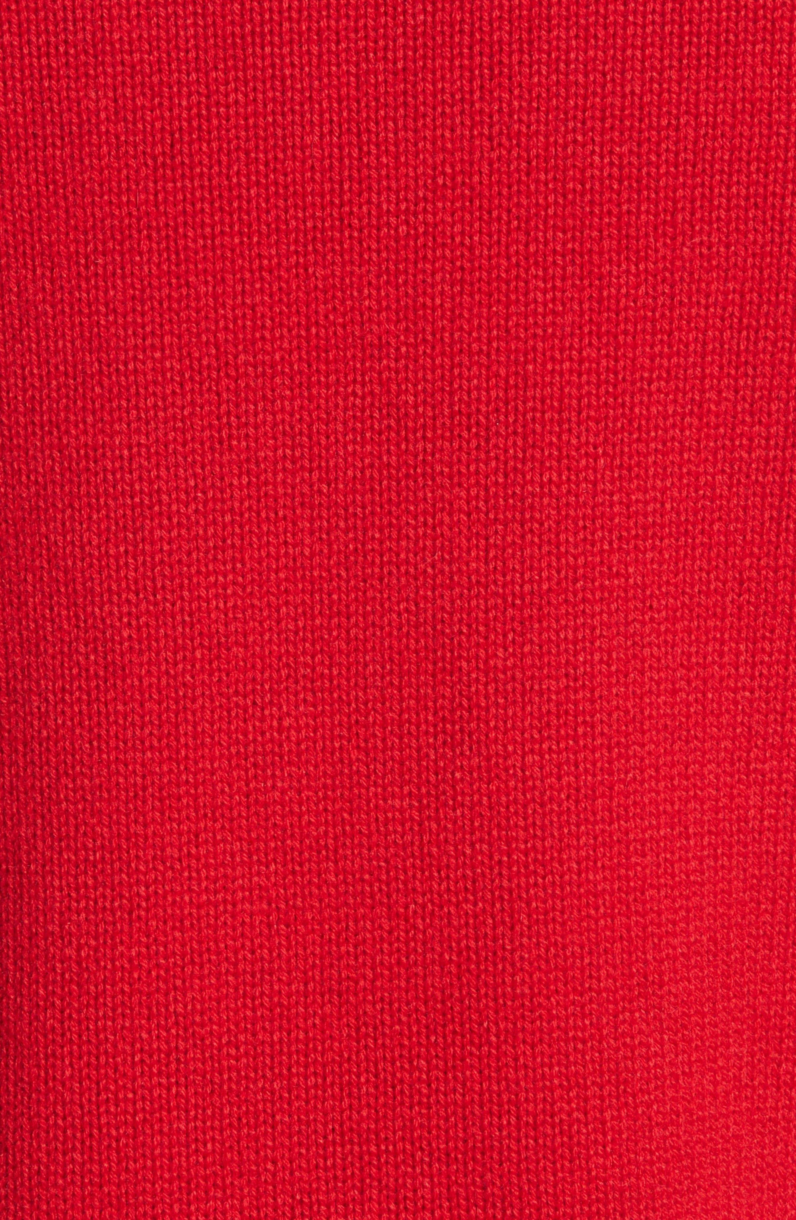 Rockstud Cashmere Sweater,                             Alternate thumbnail 5, color,                             610