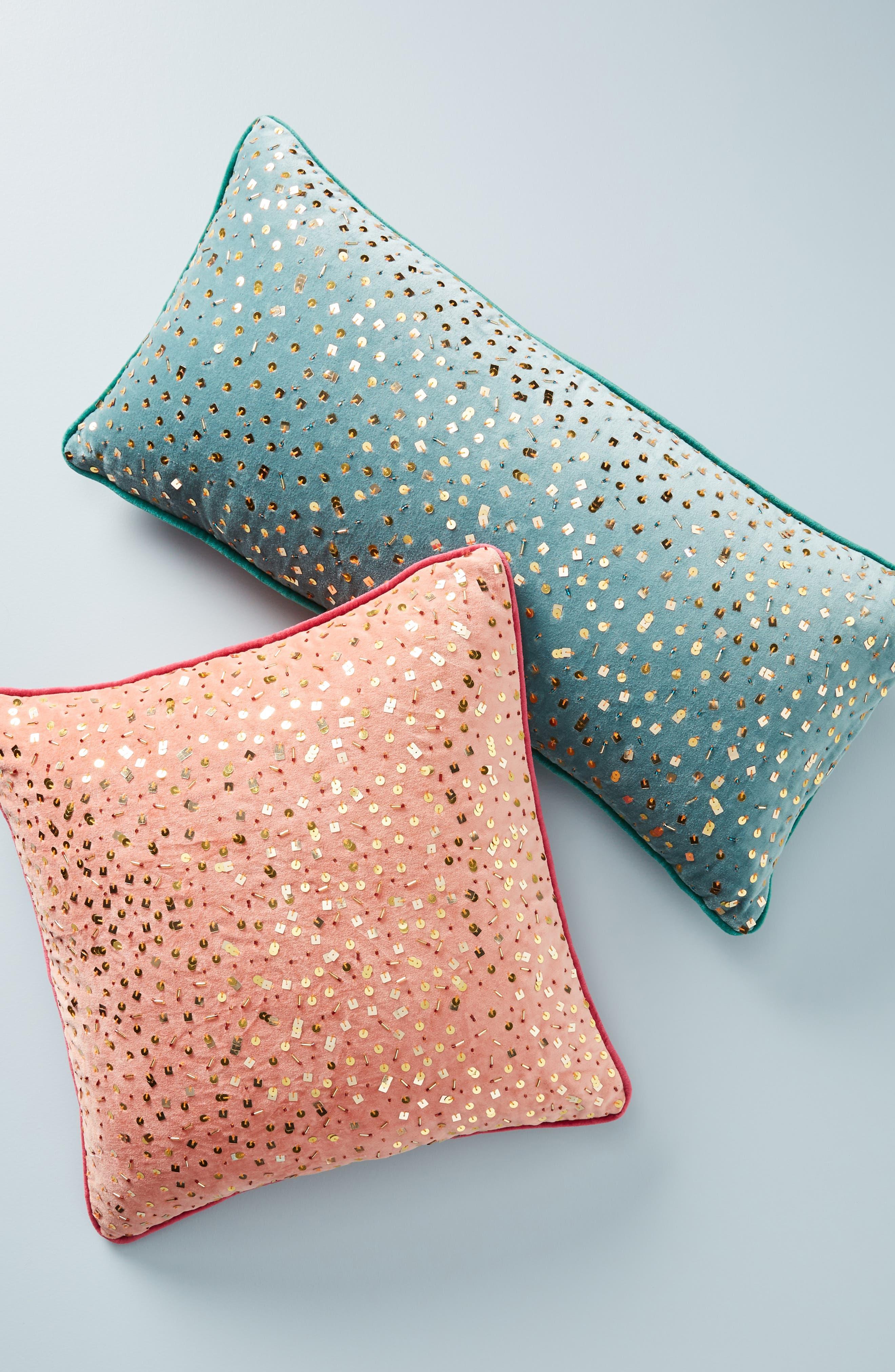 Confetti Velvet Accent Pillow,                             Alternate thumbnail 5, color,                             893