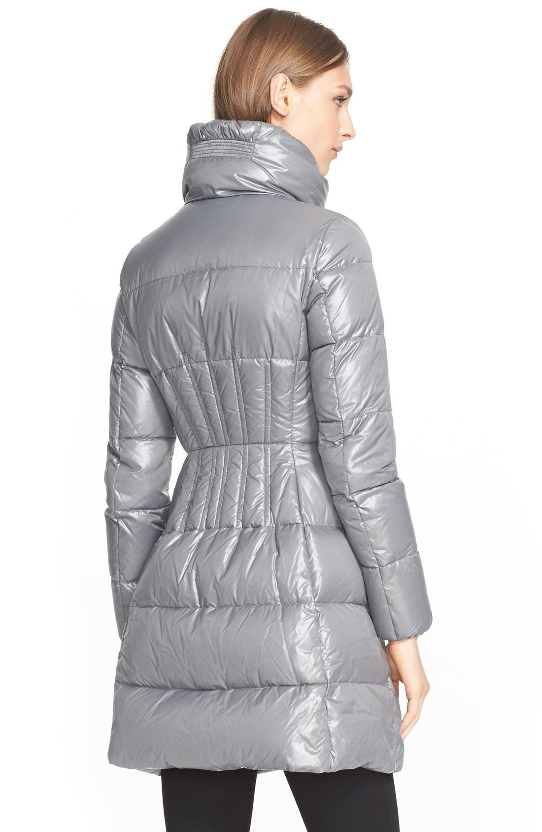 'Joinville' Water Resistant High Collar Down Puffer Coat,                             Alternate thumbnail 2, color,                             020