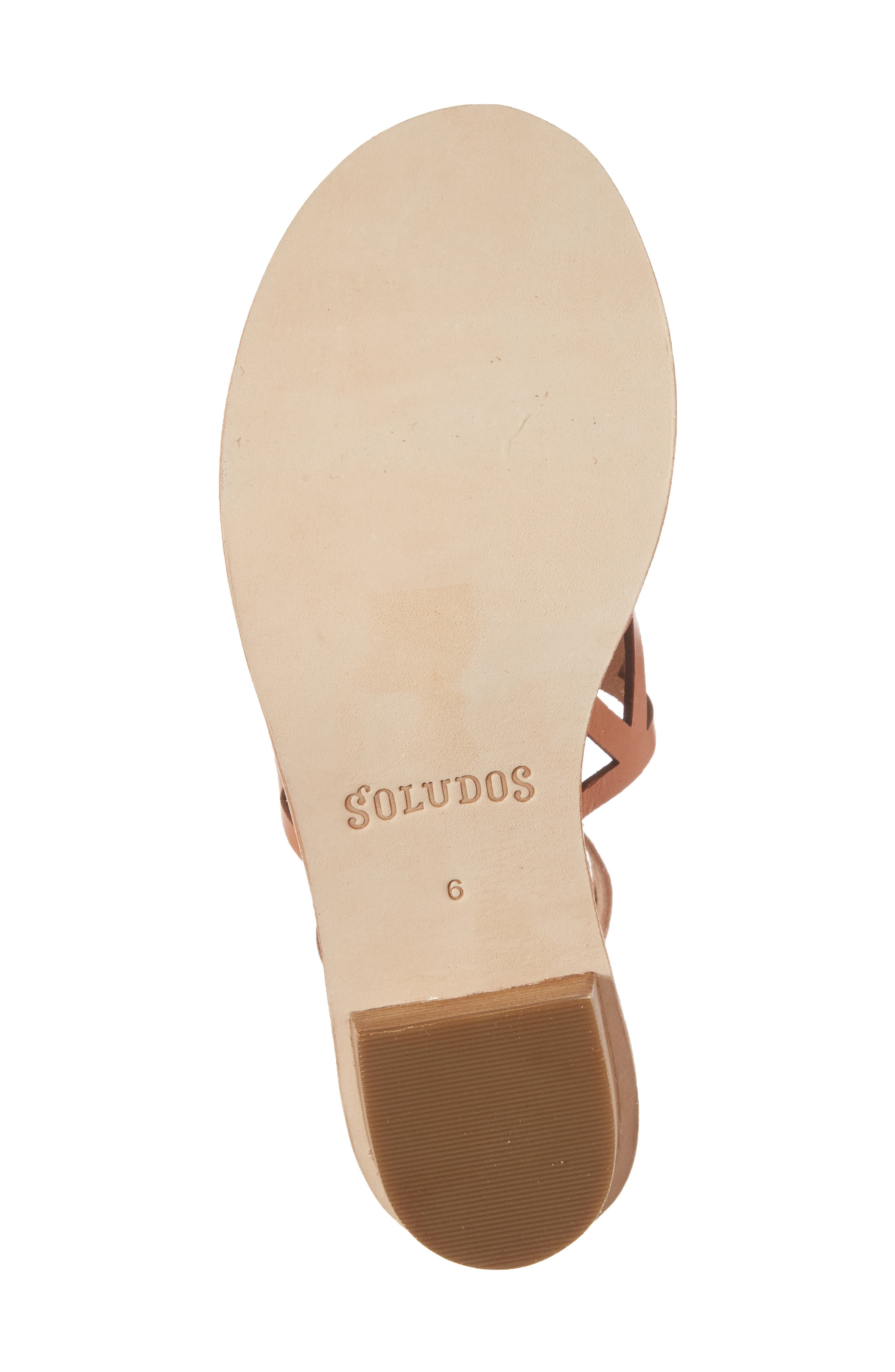 Perforated Ankle Strap Sandal,                             Alternate thumbnail 6, color,