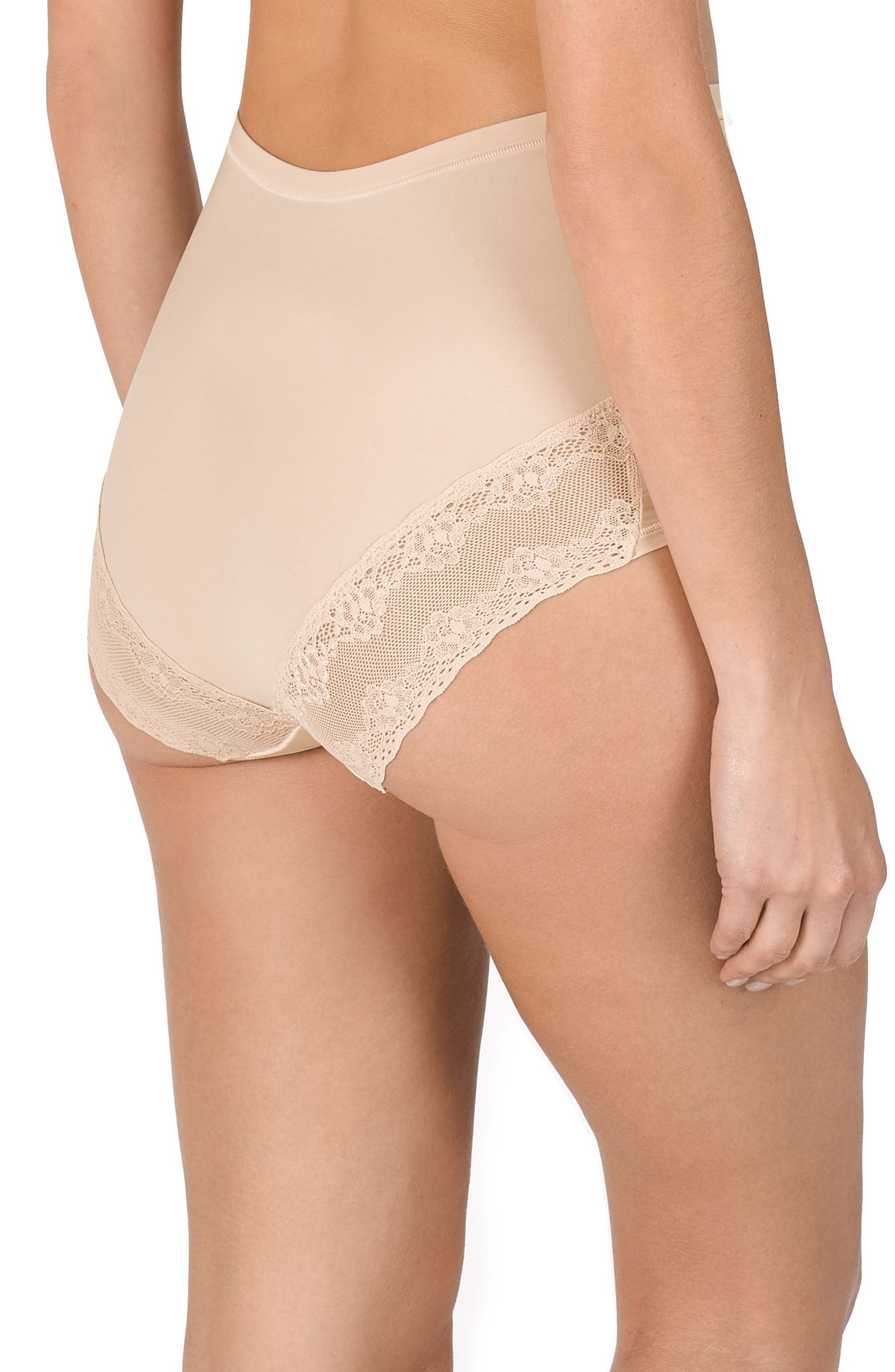 Bliss Maternity Briefs,                             Alternate thumbnail 2, color,                             CAMEO ROSE
