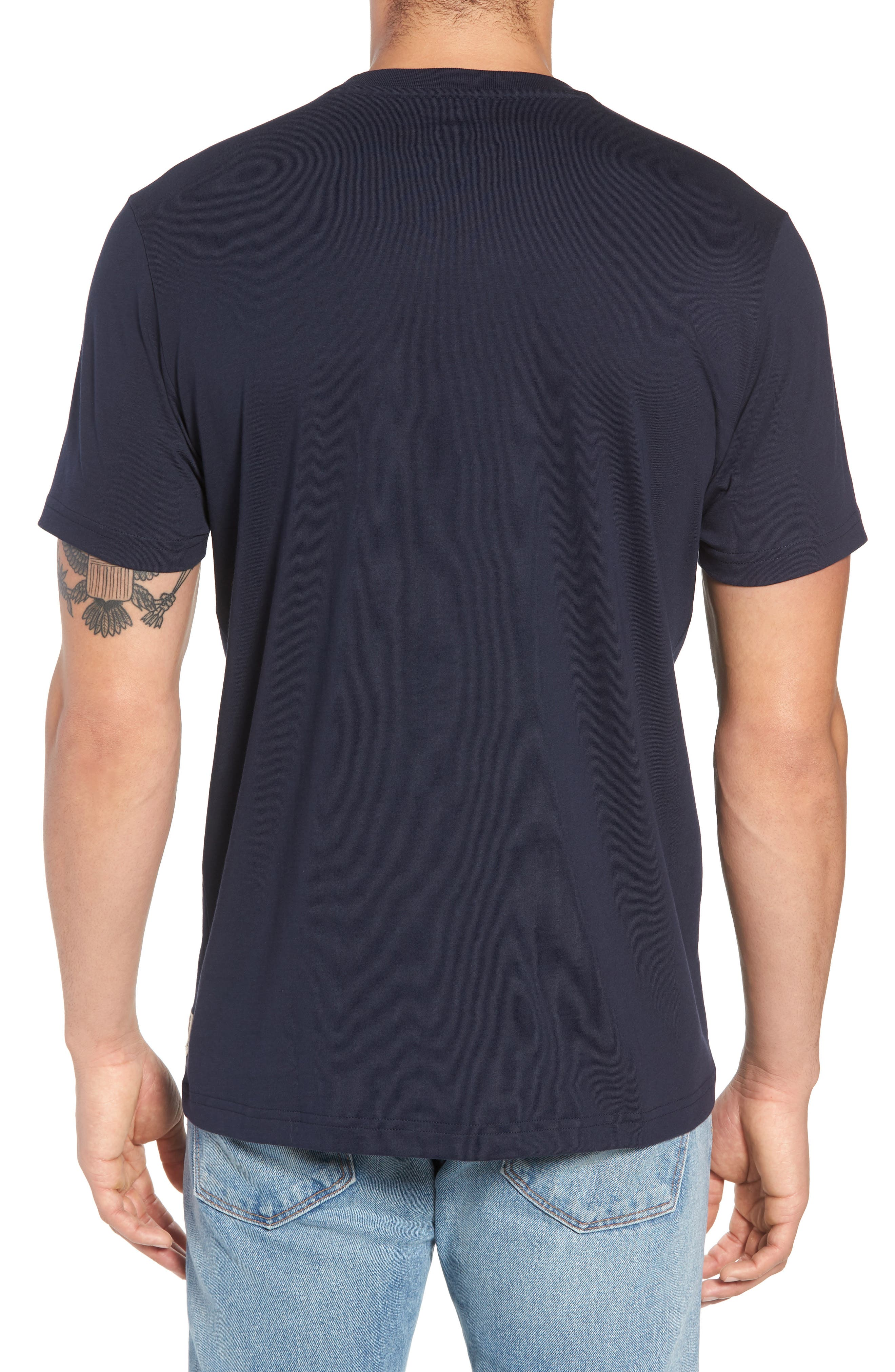 Graphic T-Shirt,                             Alternate thumbnail 2, color,                             NAVY