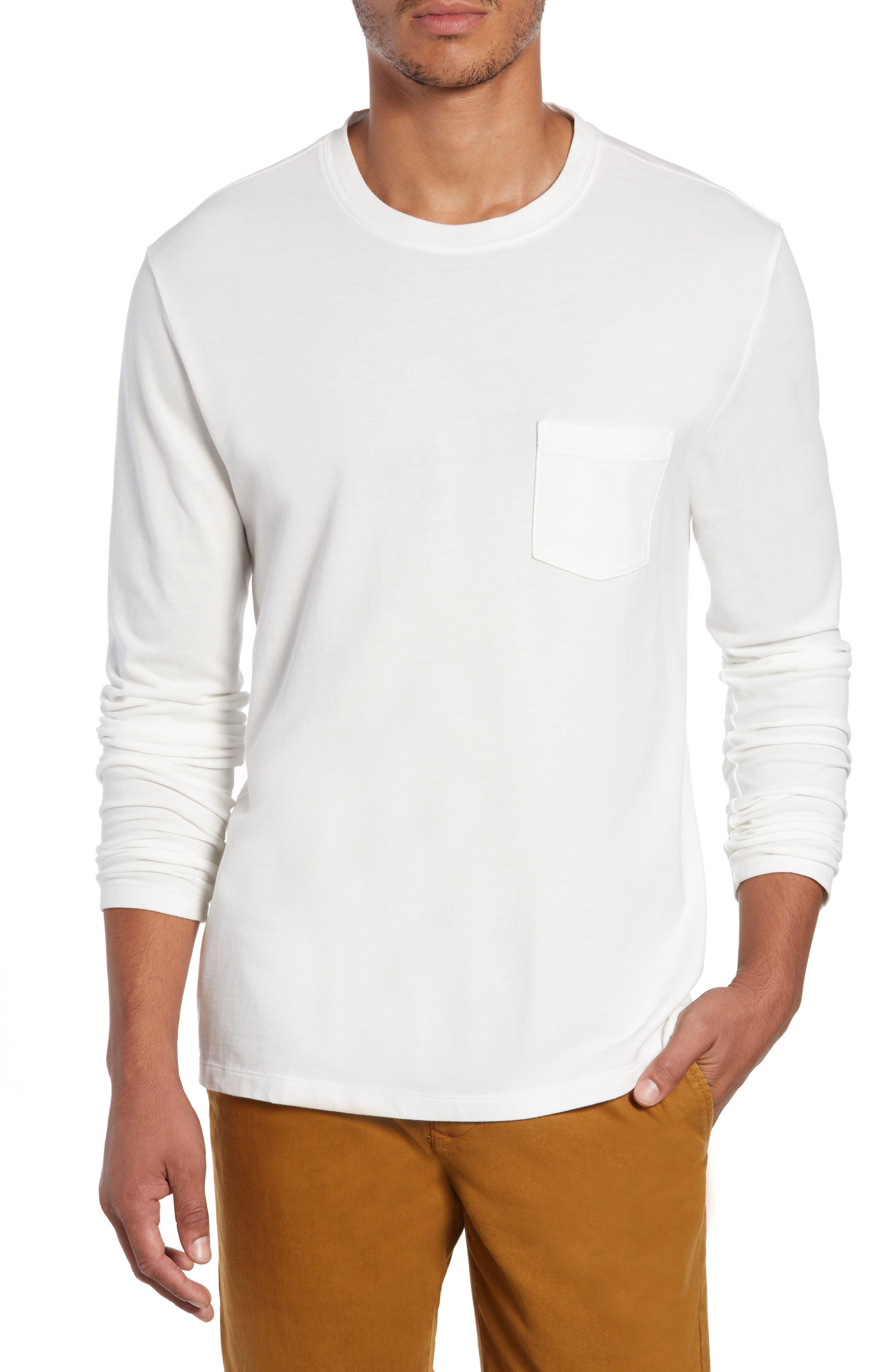 Piqua Pocket T-Shirt,                         Main,                         color, WHITE