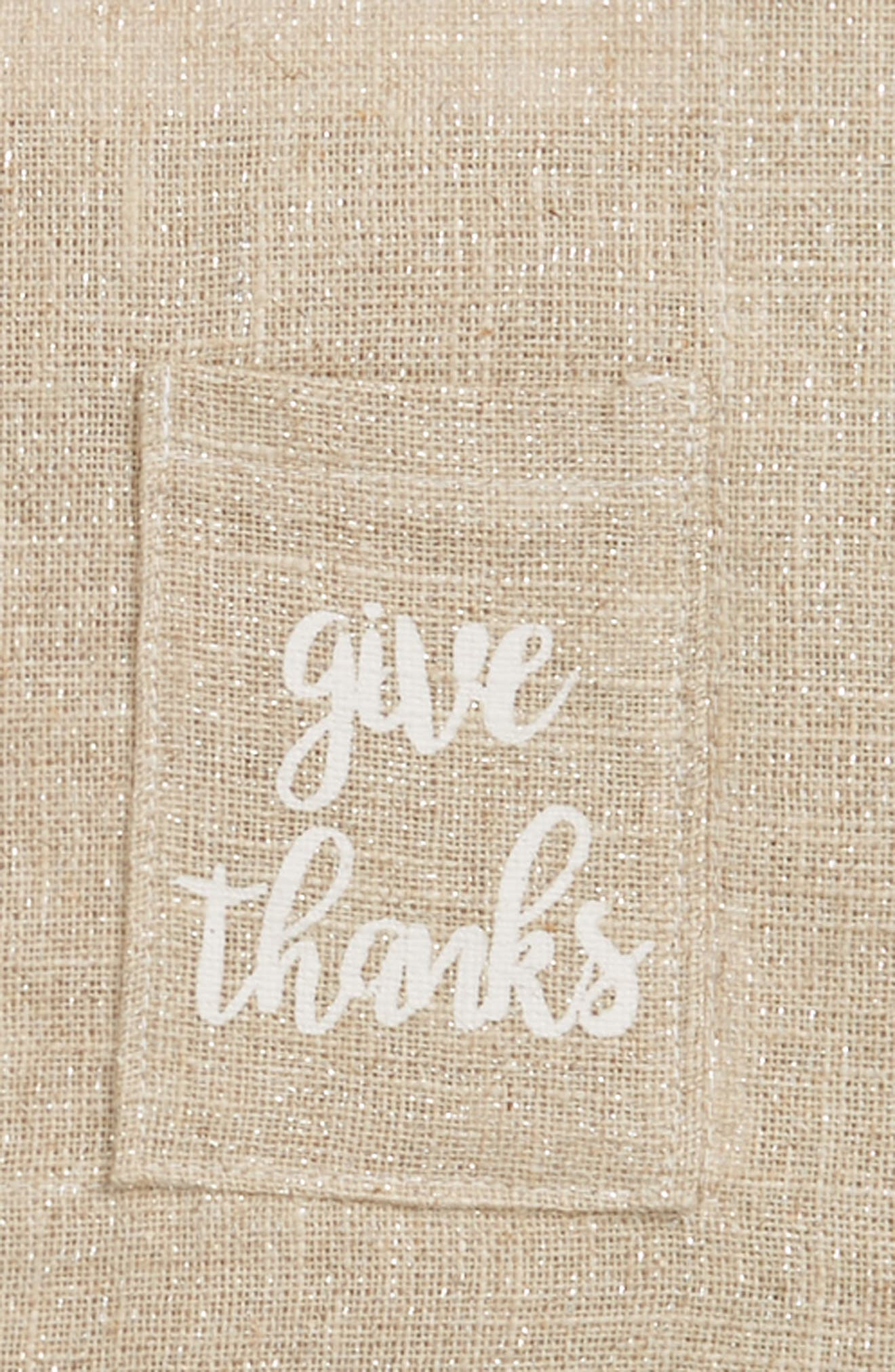 Give Thanks Set of 2 Placemats,                             Alternate thumbnail 2, color,                             250
