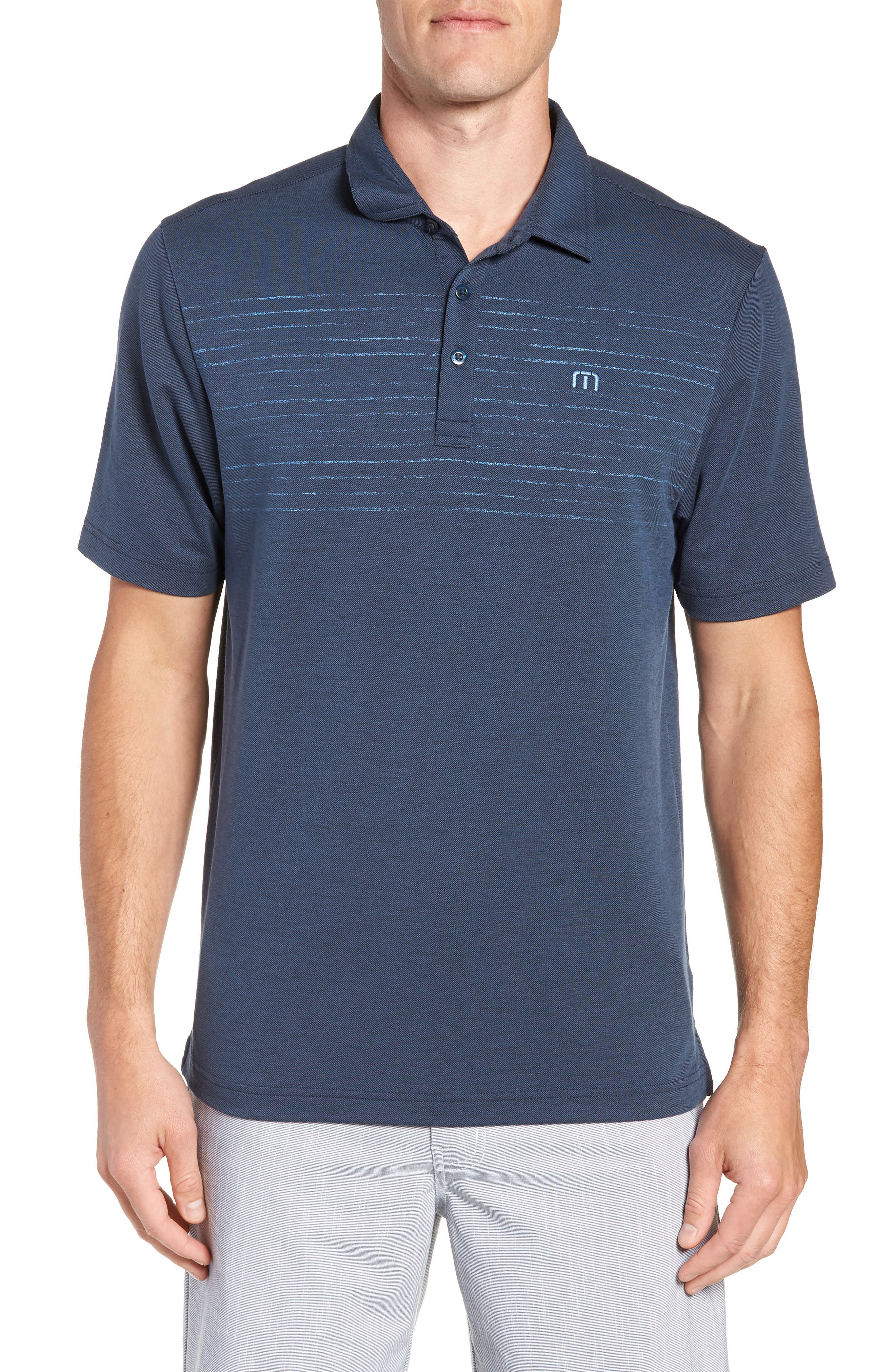 Toastin Striped Polo,                         Main,                         color, 400