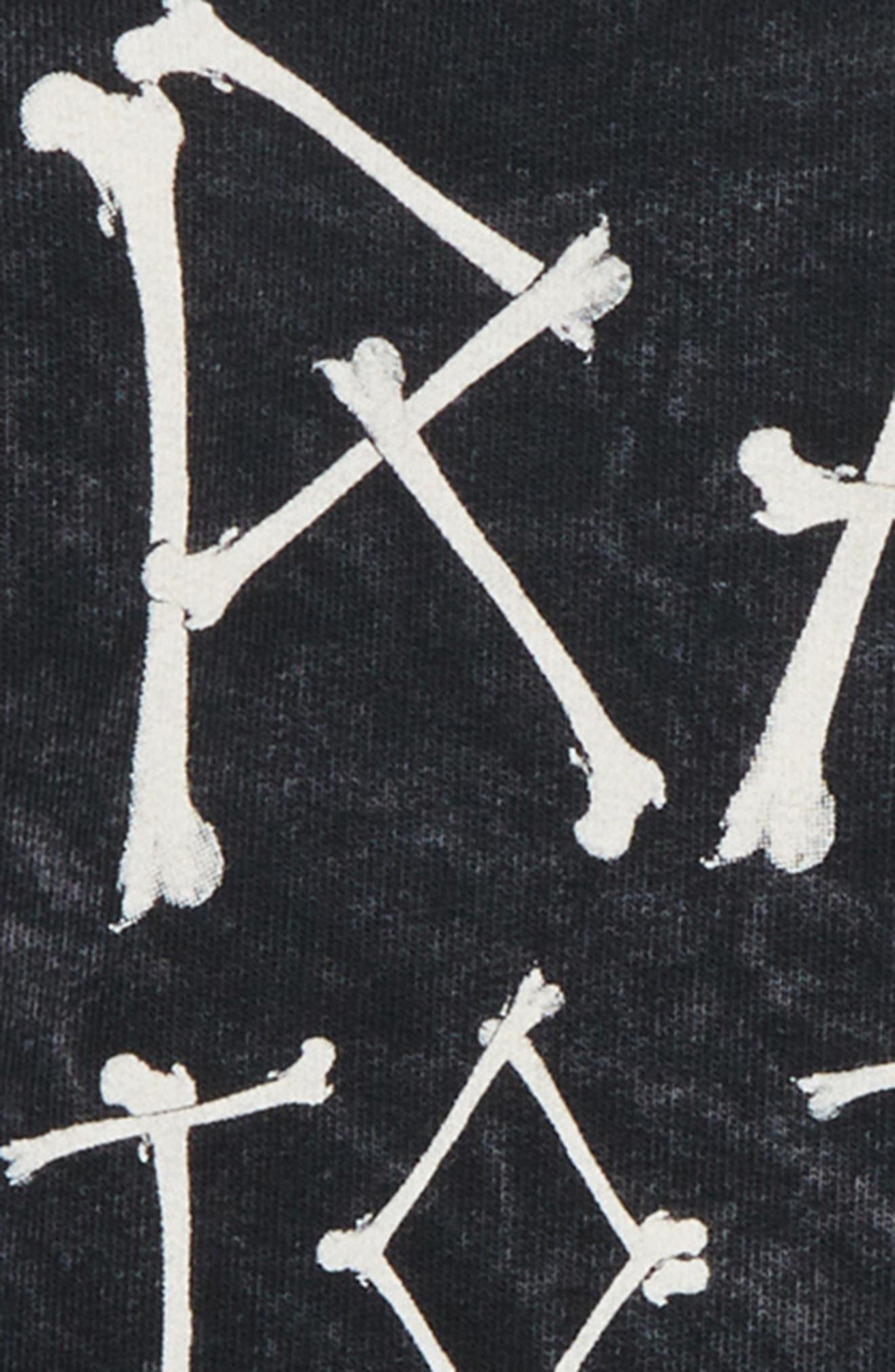 Rad to the Bone Sweatshirt,                             Alternate thumbnail 3, color,                             MINERAL BLACK