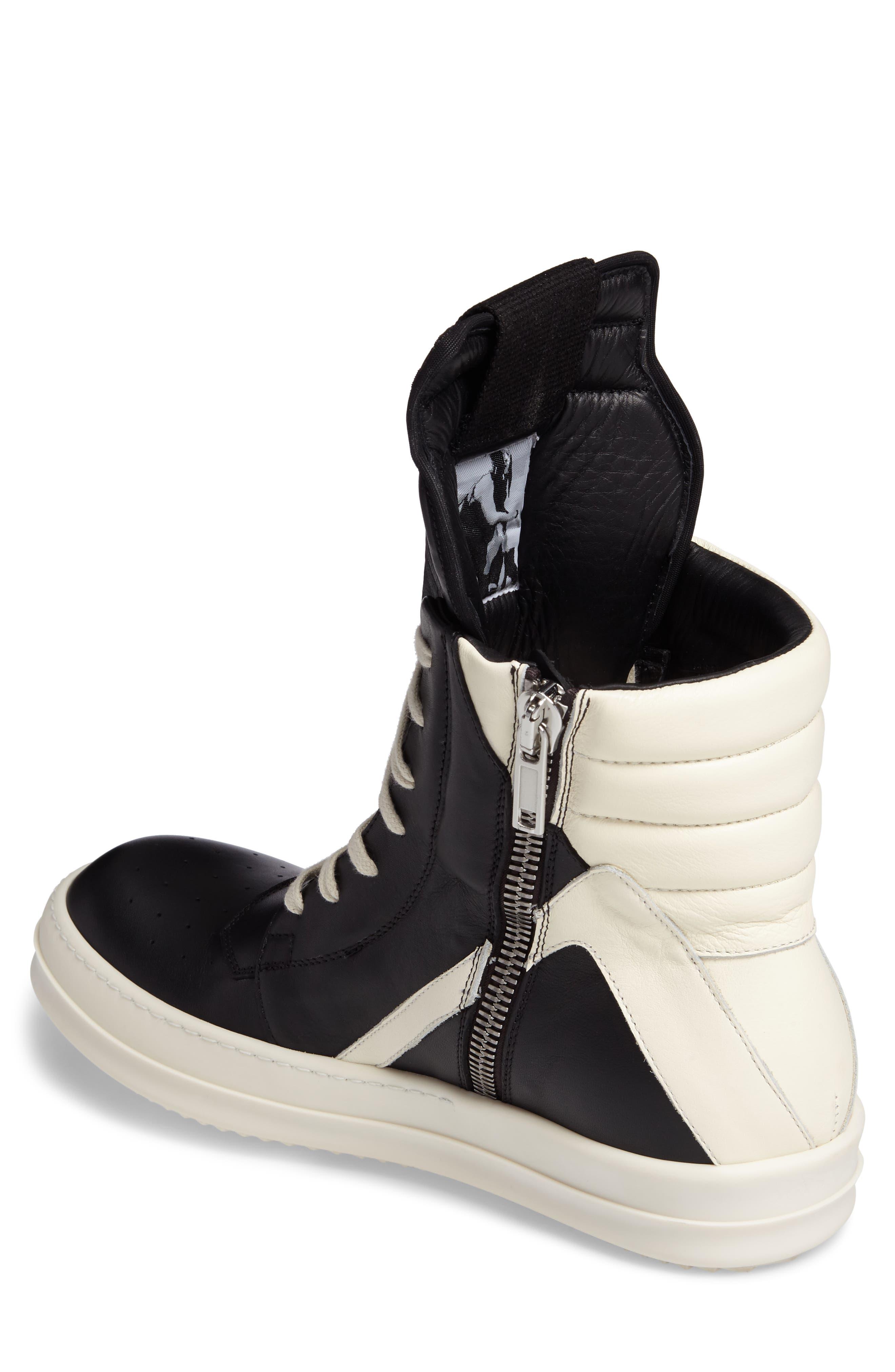 'Geobasket' High Top Sneaker,                             Alternate thumbnail 2, color,                             001