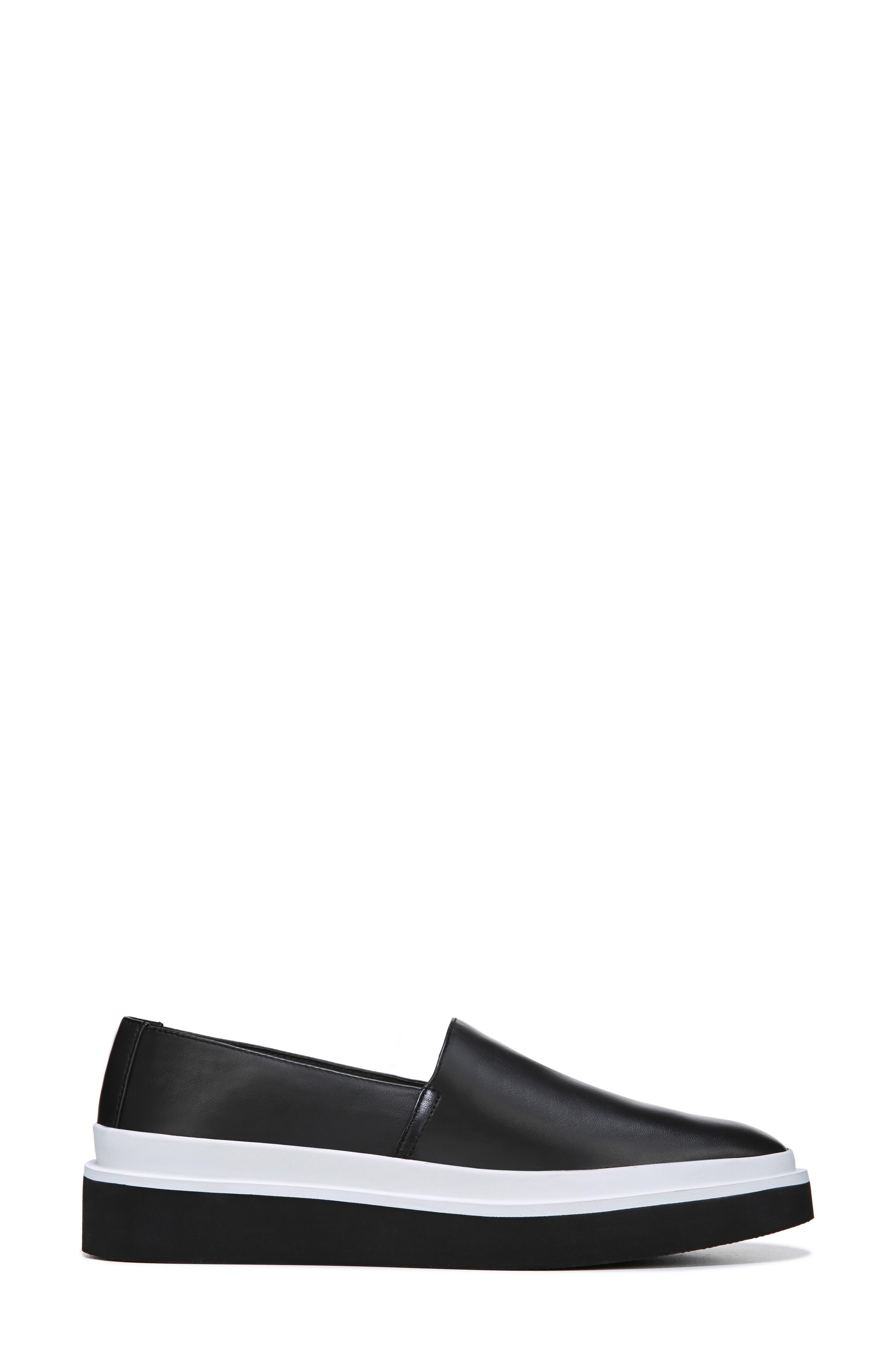 Travis Slip-on Sneaker,                             Alternate thumbnail 3, color,                             BLACK