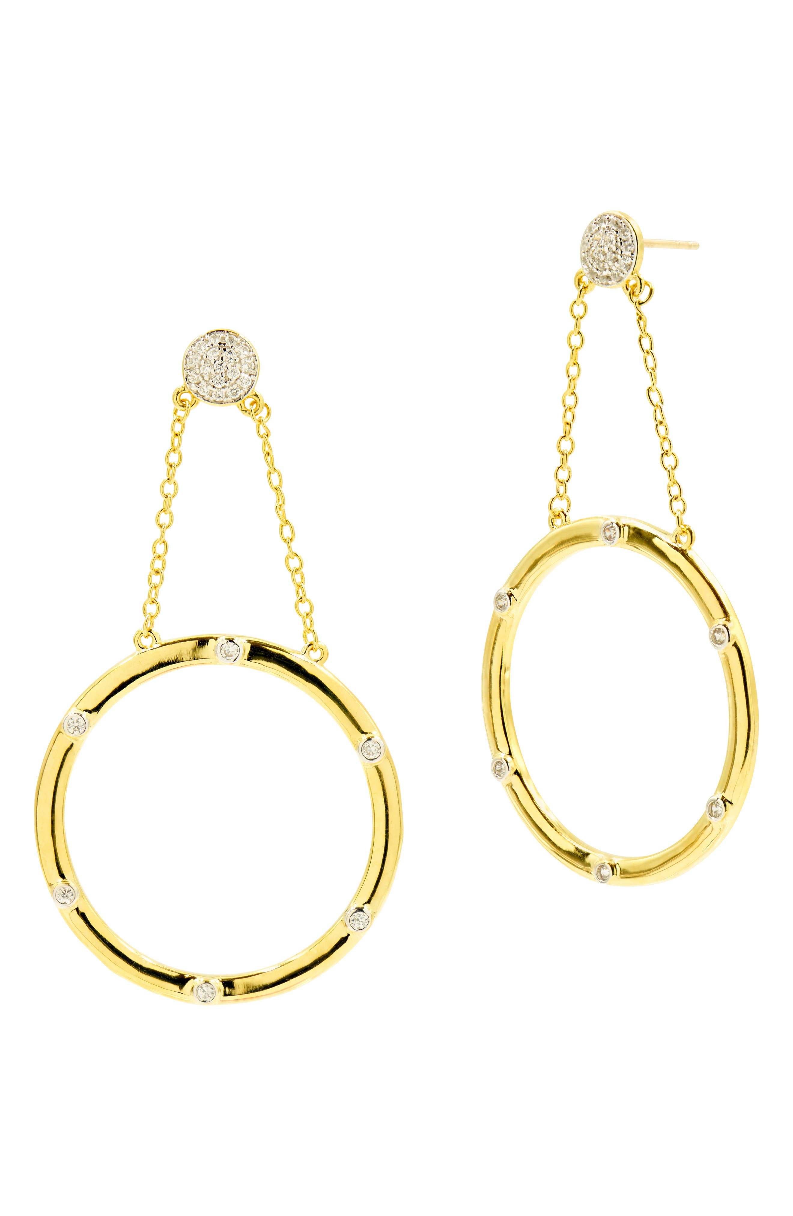 Radiance Large Drop Earrings in Gold