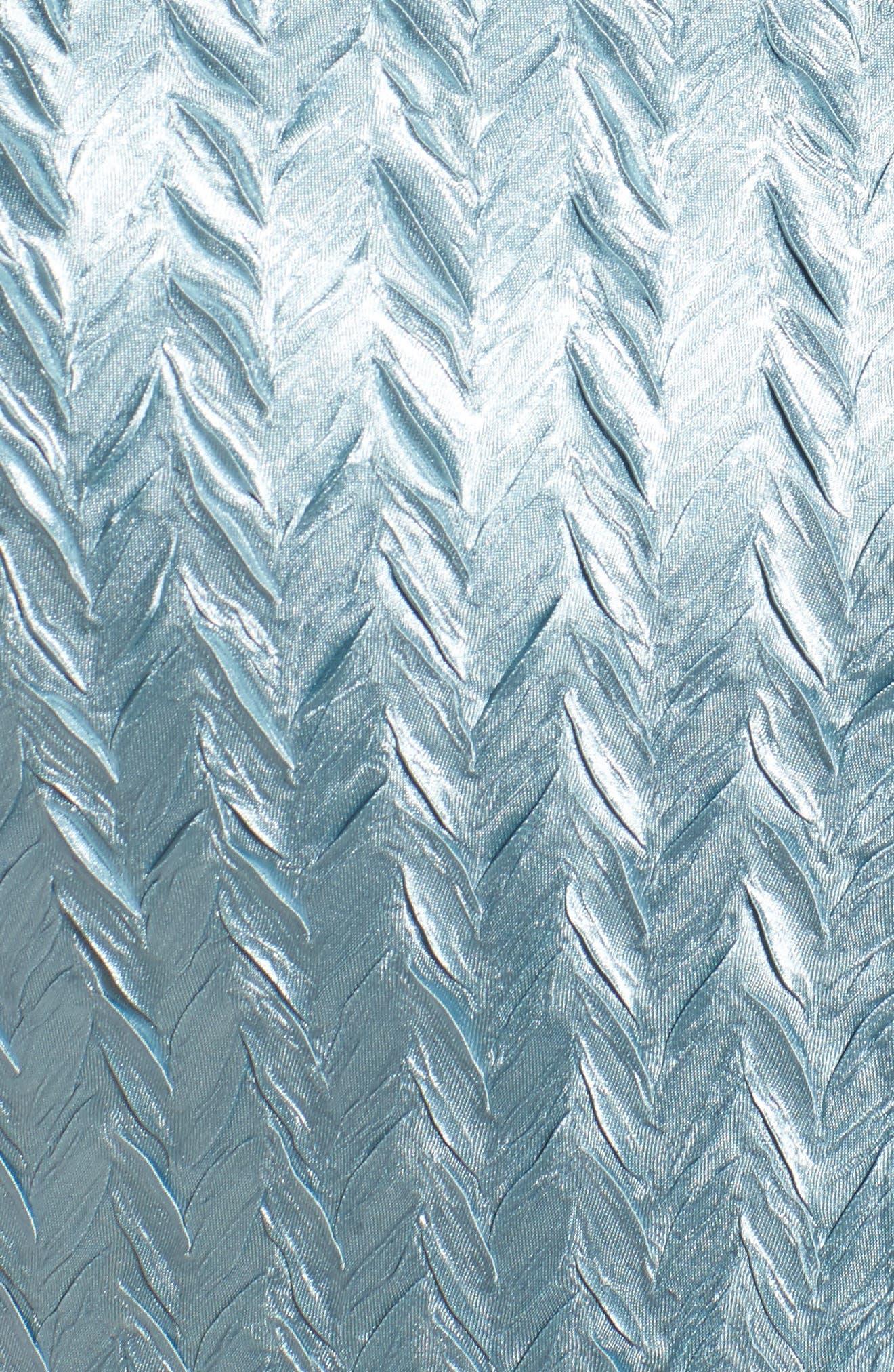 Lace Trim Jacket Dress,                             Alternate thumbnail 5, color,                             439