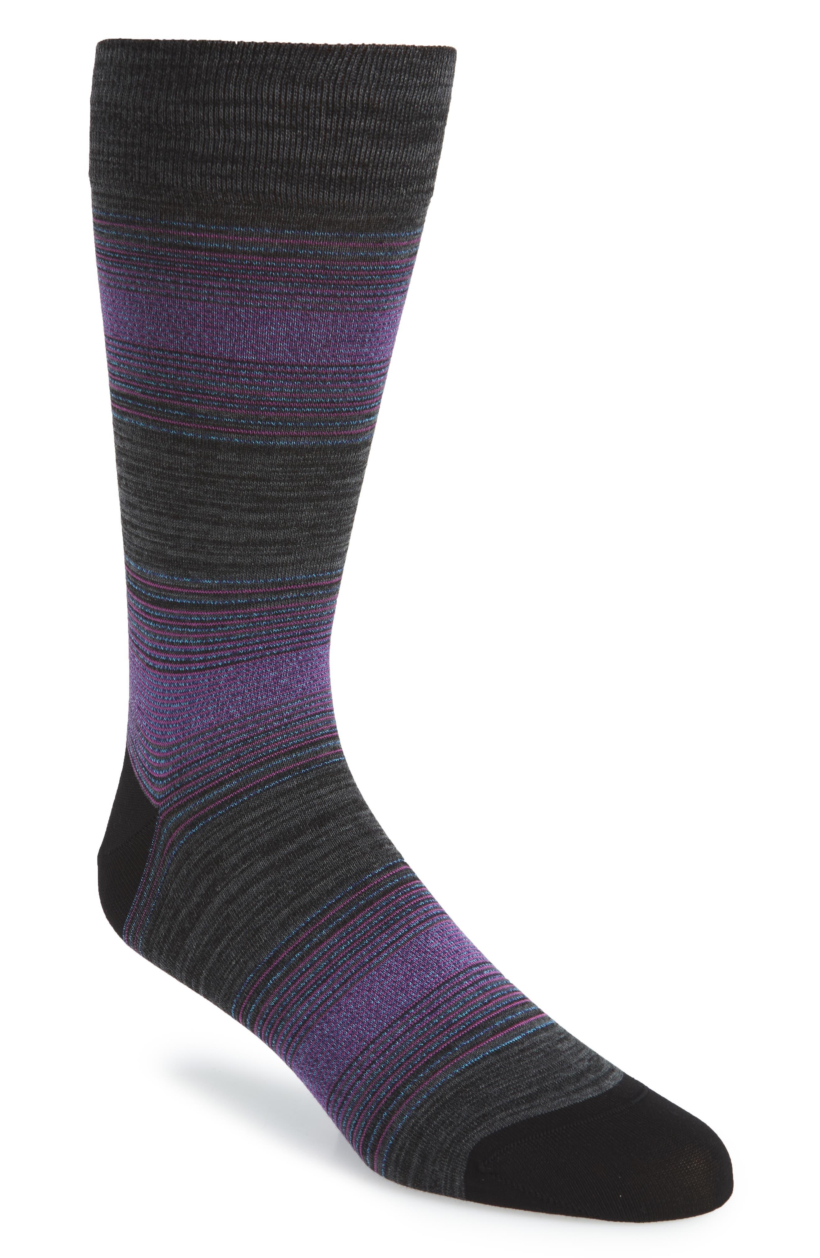 men's bugatchi mercerized socks