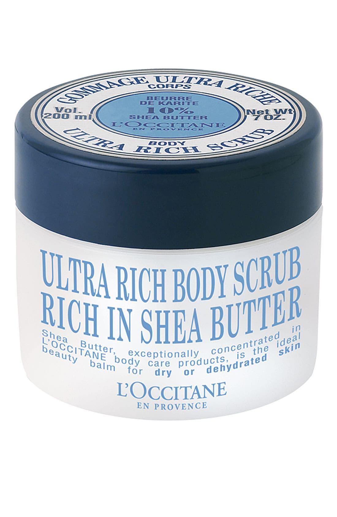 Shea Butter Ultra Rich Body Scrub,                             Main thumbnail 1, color,                             NO COLOR