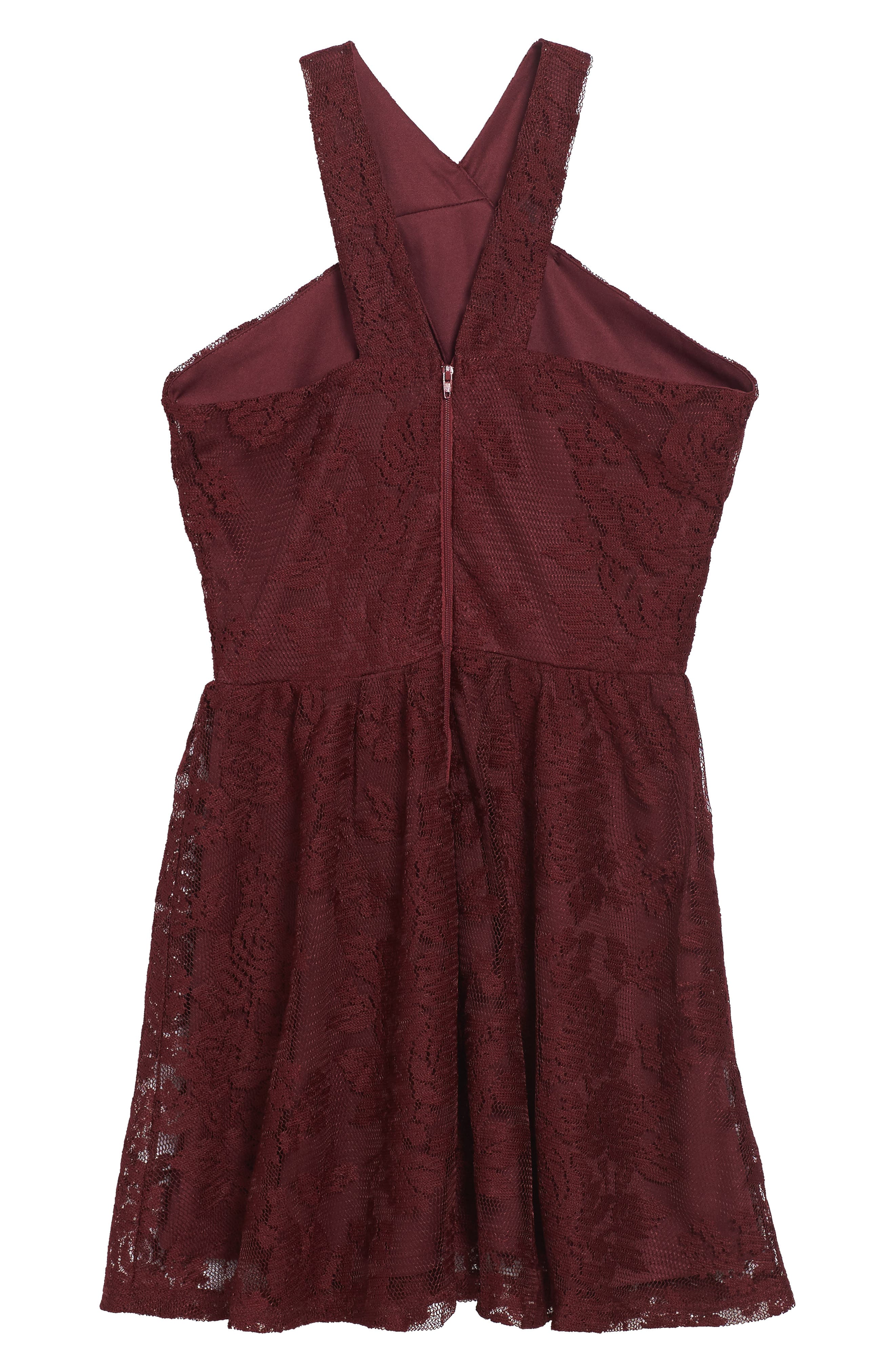 Winona Lace Dress,                             Alternate thumbnail 2, color,                             609