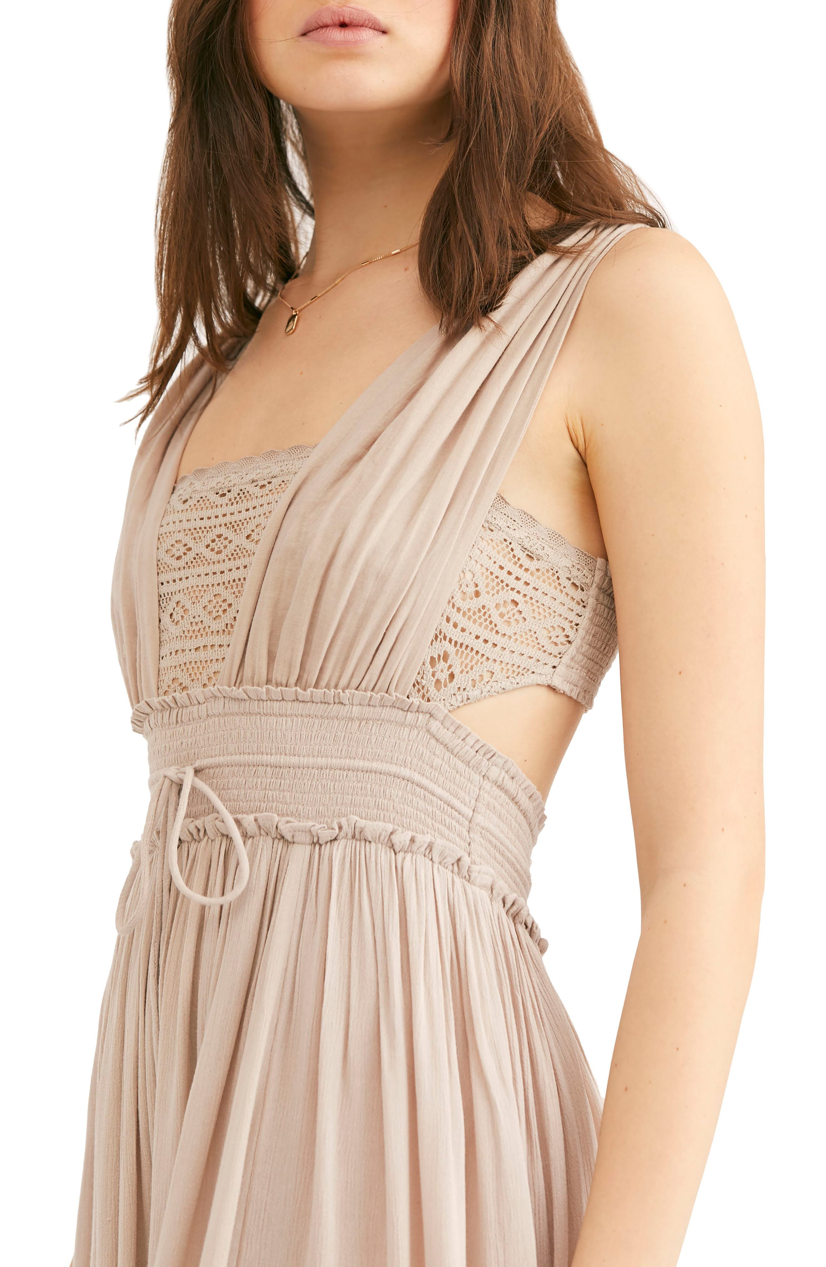 FREE PEOPLE,                             Endless Summer by Free People Santa Maria Maxi Dress,                             Alternate thumbnail 3, color,                             250