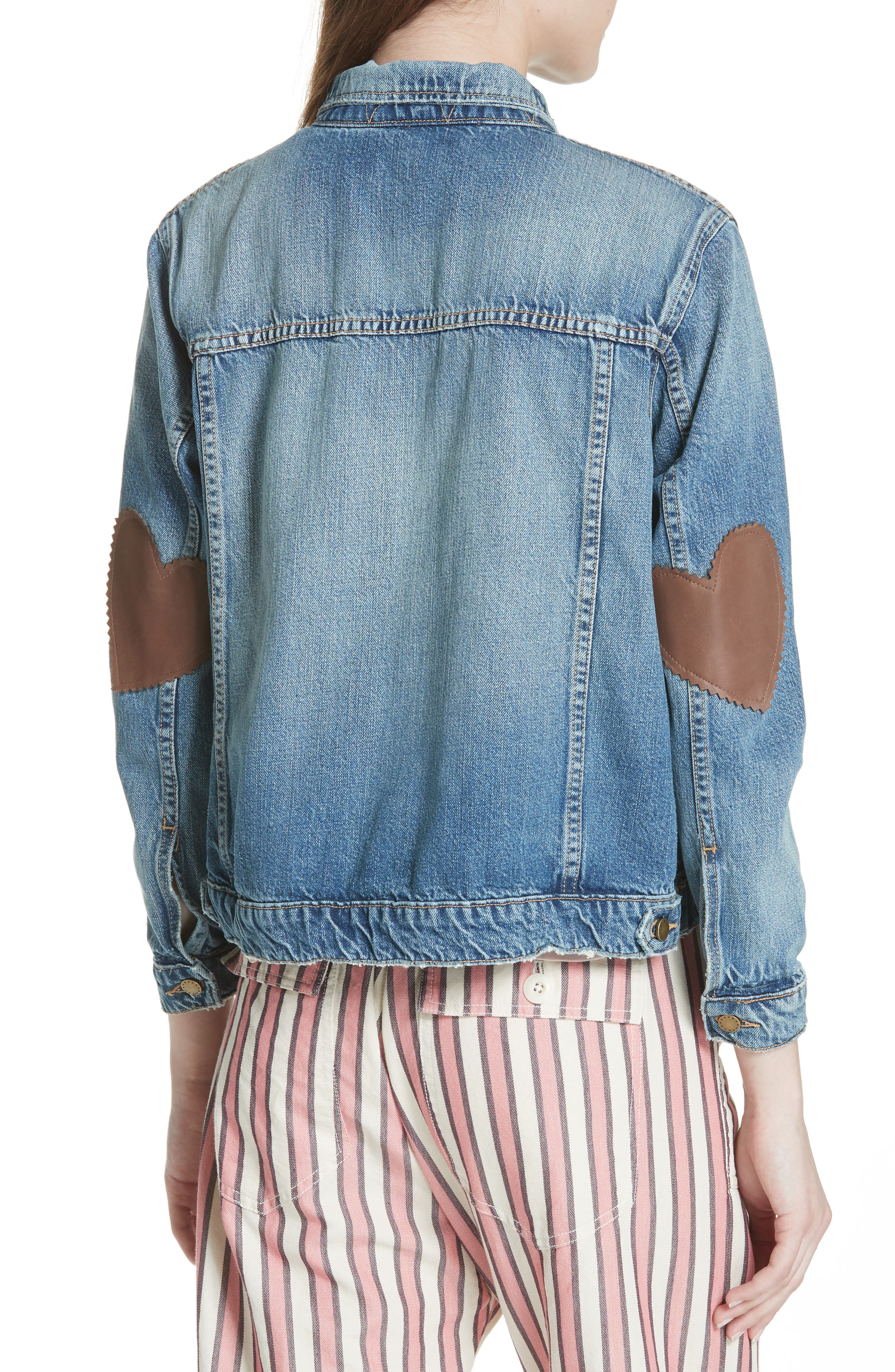 The Boxy Jean Jacket,                             Alternate thumbnail 2, color,                             435