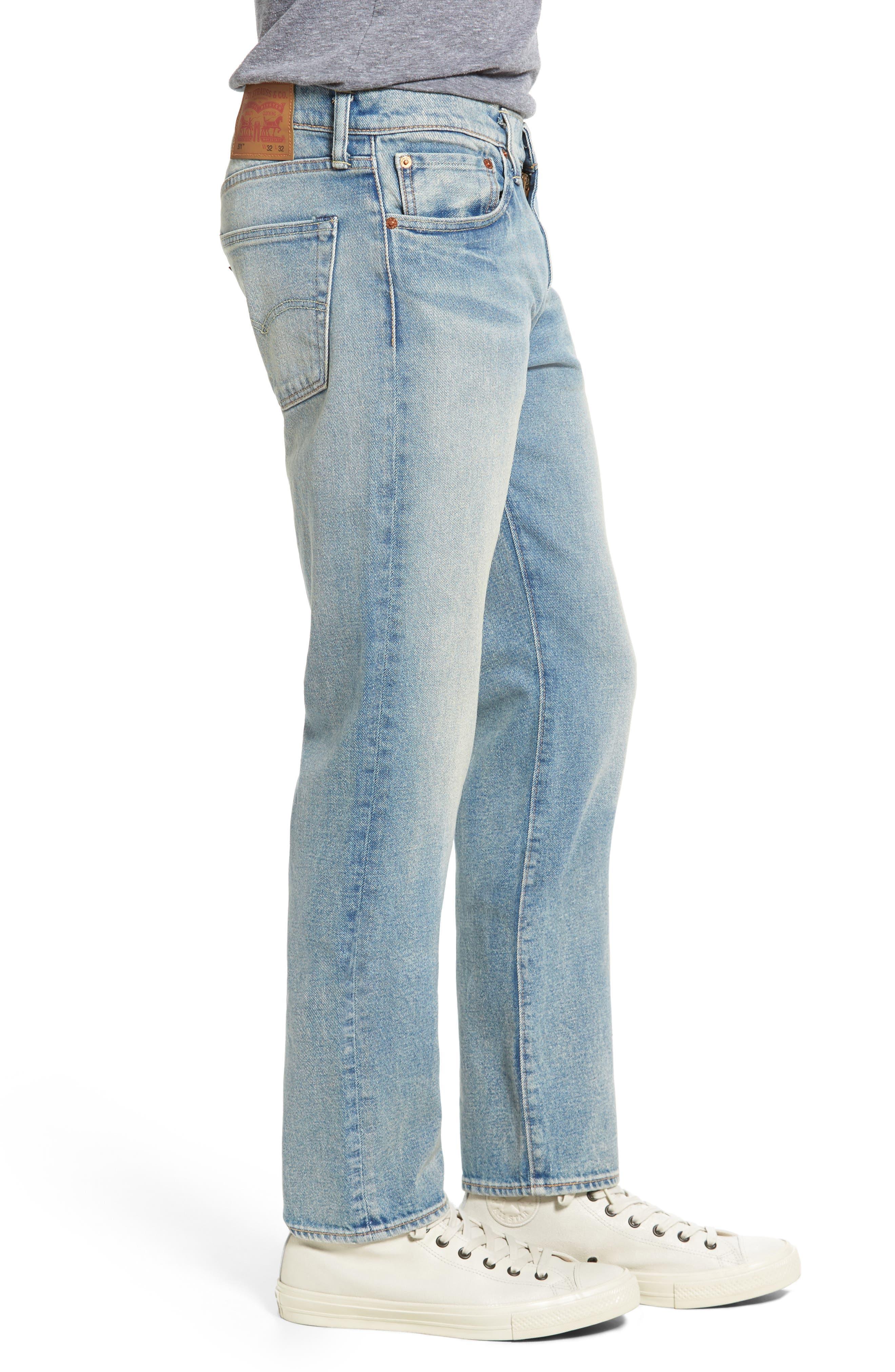 Levi's 511 Slim Fit Jeans,                             Alternate thumbnail 3, color,                             402