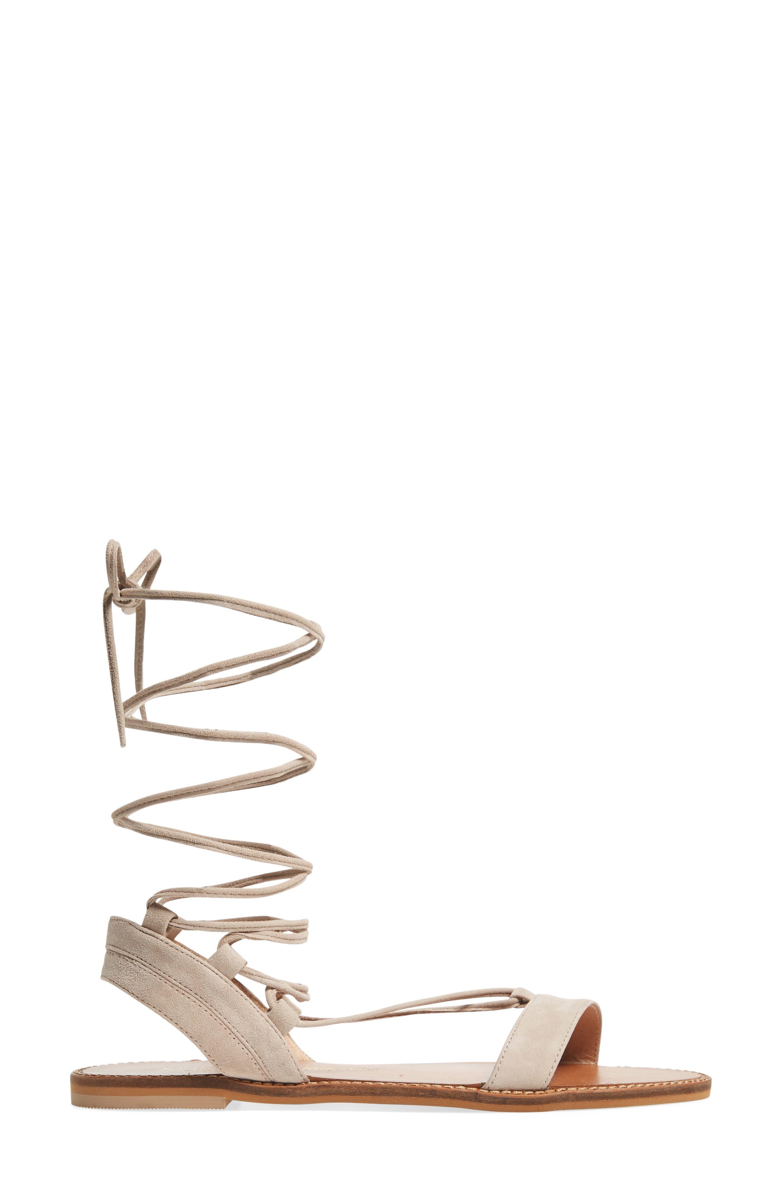 Brea Ankle Wrap Sandal,                             Alternate thumbnail 6, color,