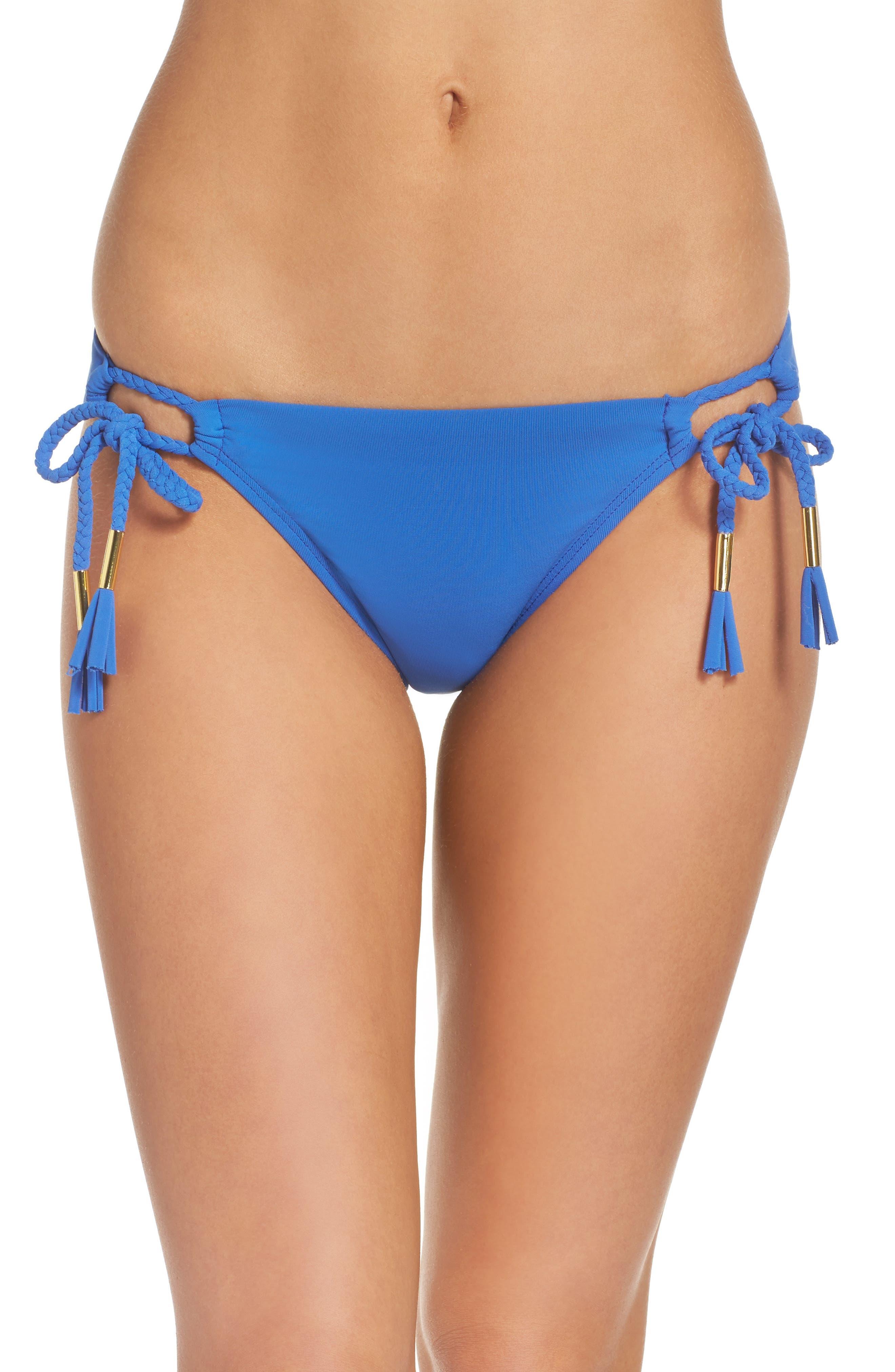 Side Tie Bikini Bottoms,                             Main thumbnail 3, color,