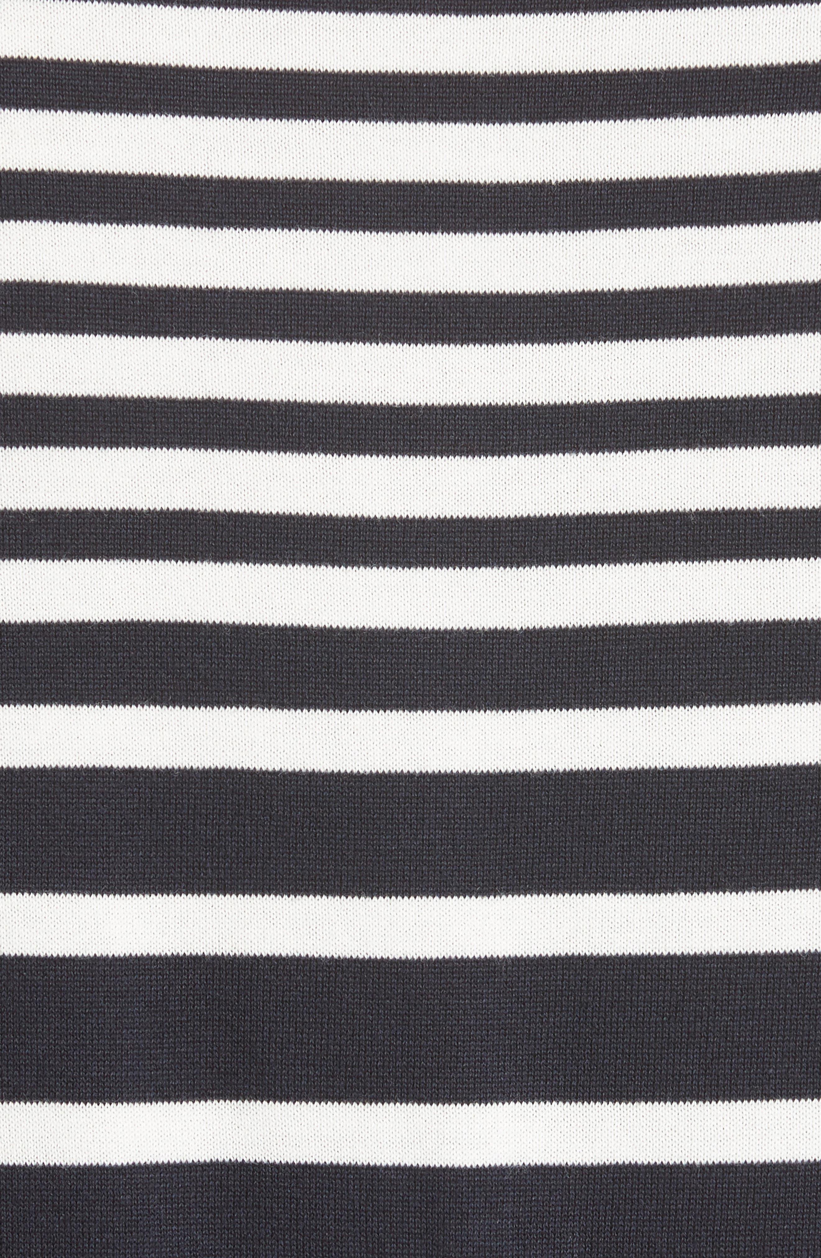Variegated Stripe Sweater,                             Alternate thumbnail 5, color,                             410