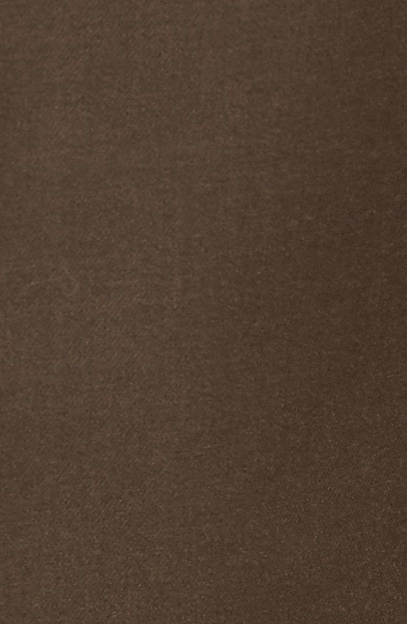 Pleated Microfiber Dress Pants,                             Alternate thumbnail 9, color,