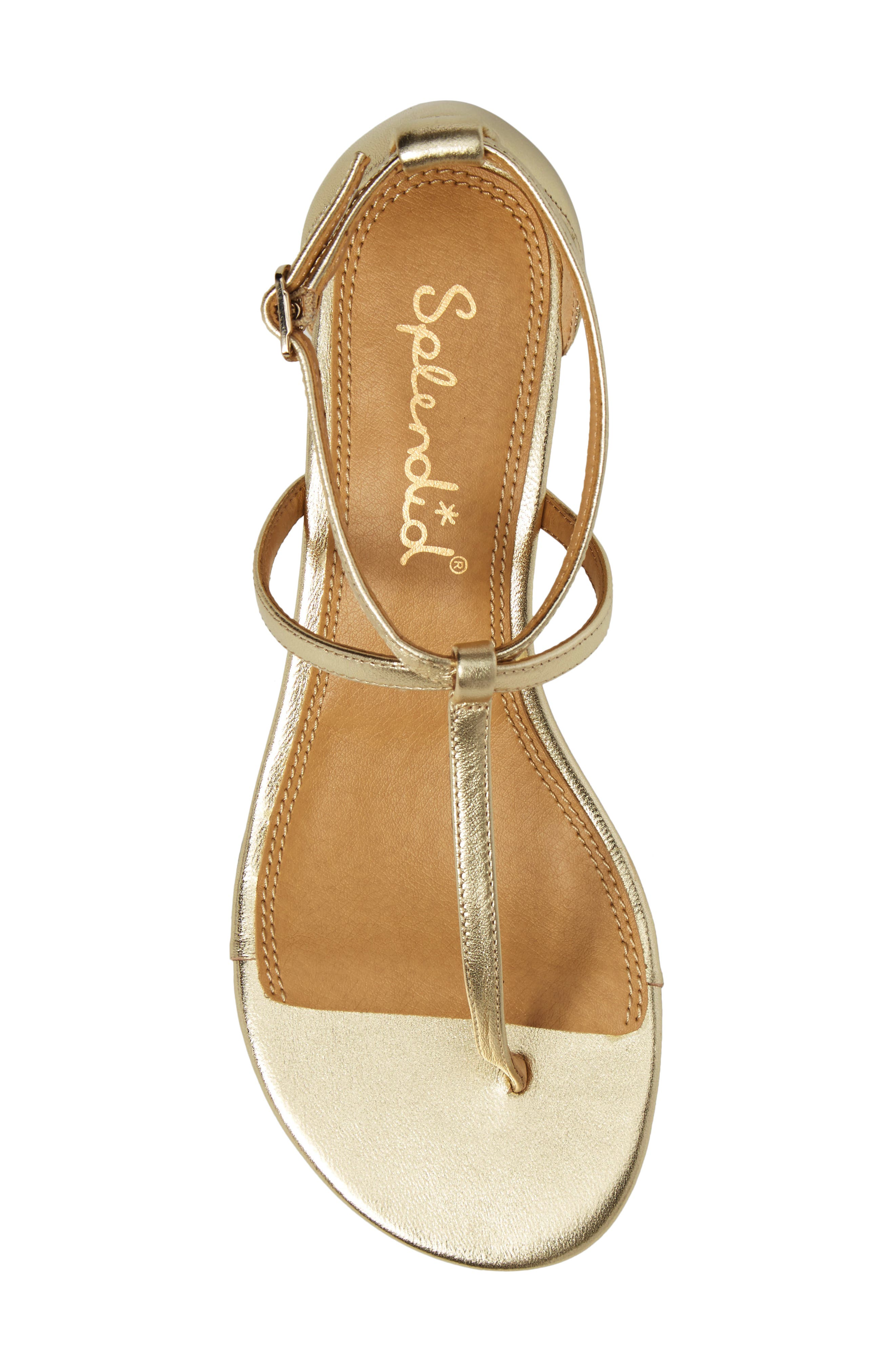 Bryce T-Strap Wedge Sandal,                             Alternate thumbnail 30, color,