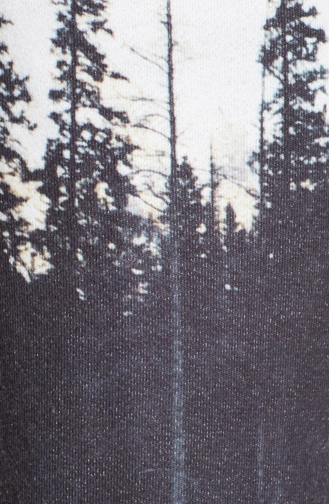 Landscape Print Sweatpants,                             Alternate thumbnail 3, color,                             100