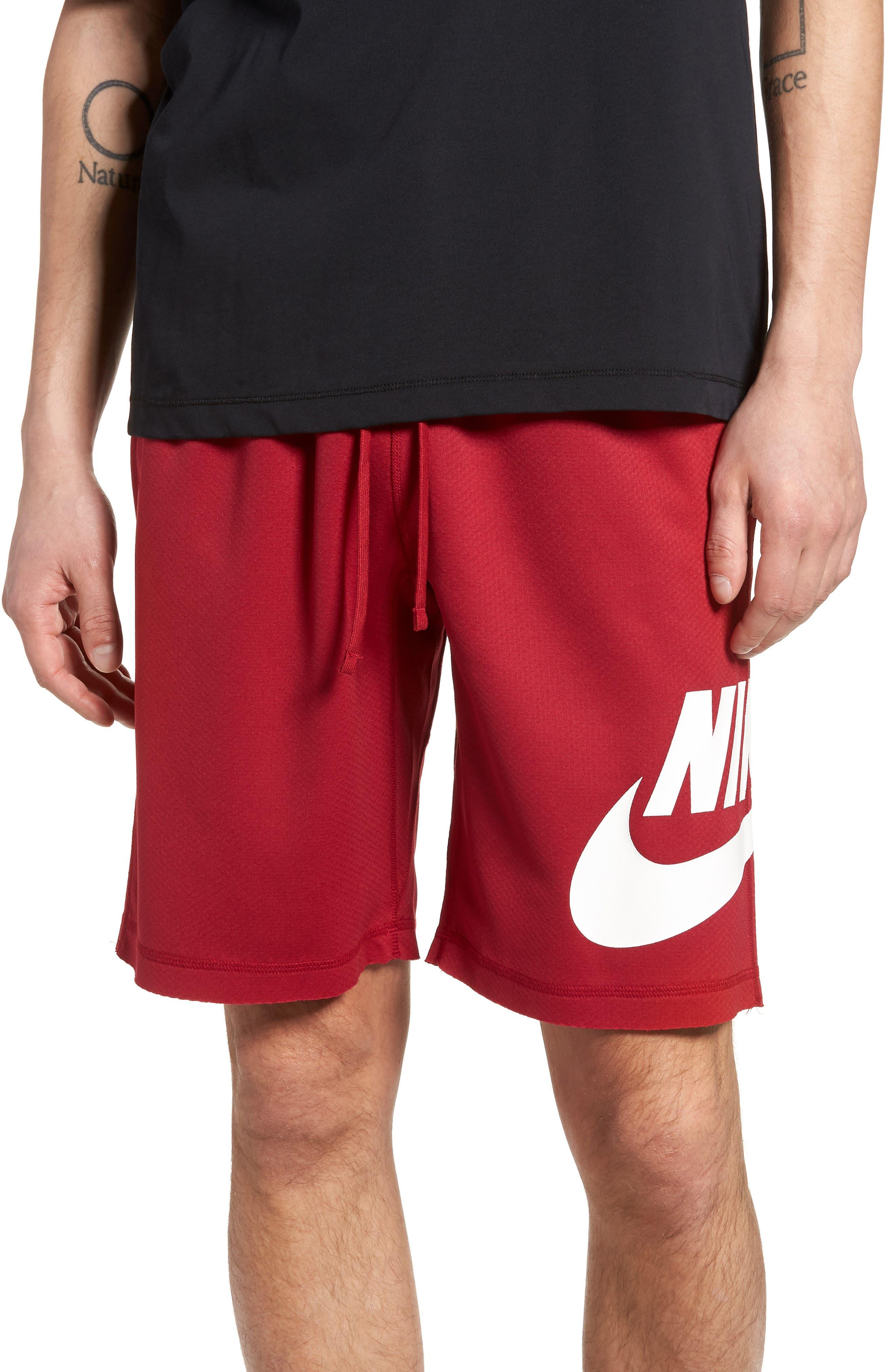 Nike Sb Sunday Dri-Fit Shorts, Red