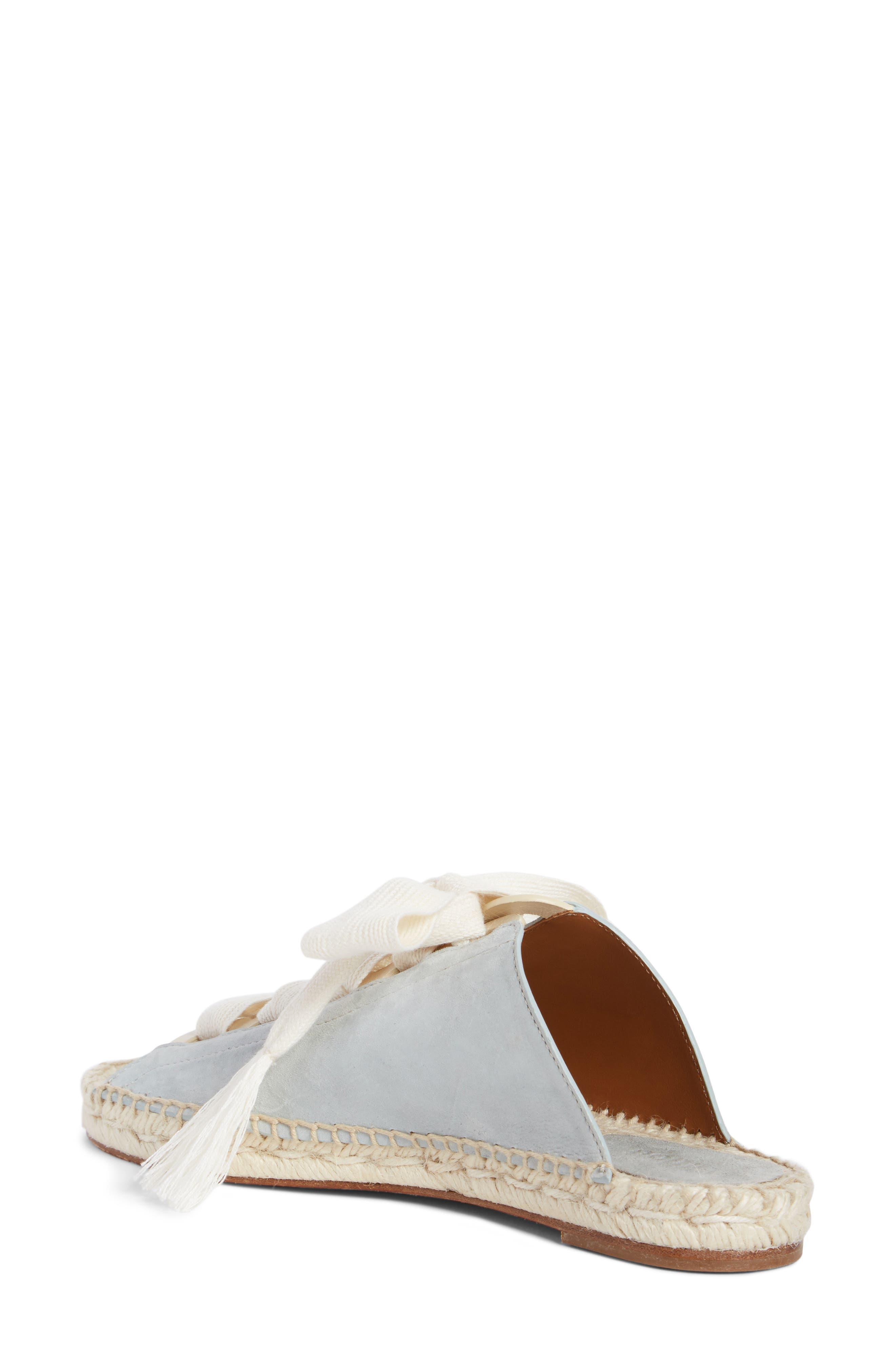 Harper Lace-Up Espadrille Slide Sandal,                             Alternate thumbnail 2, color,                             450