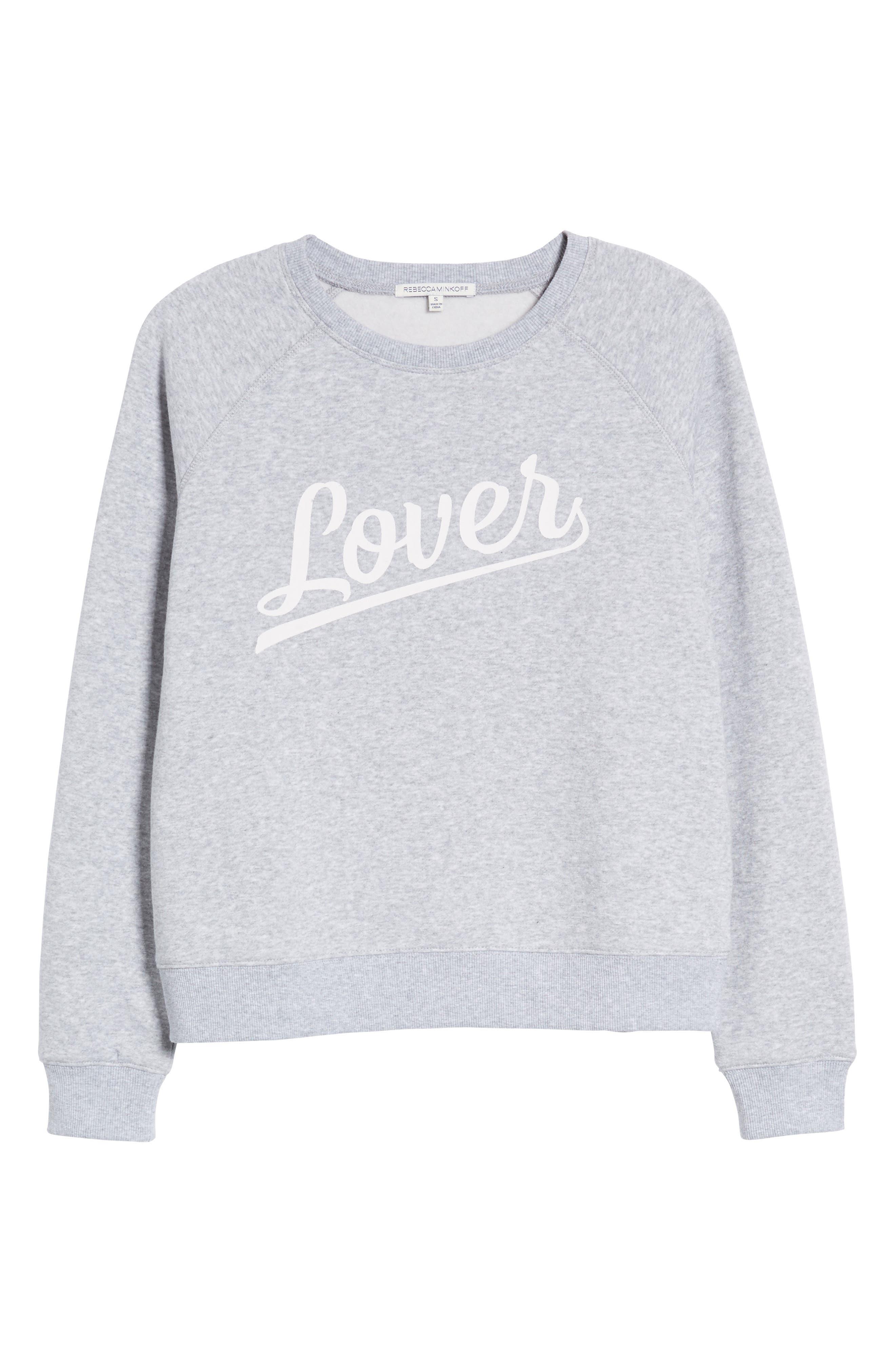 Lover Sweatshirt,                             Alternate thumbnail 7, color,                             038
