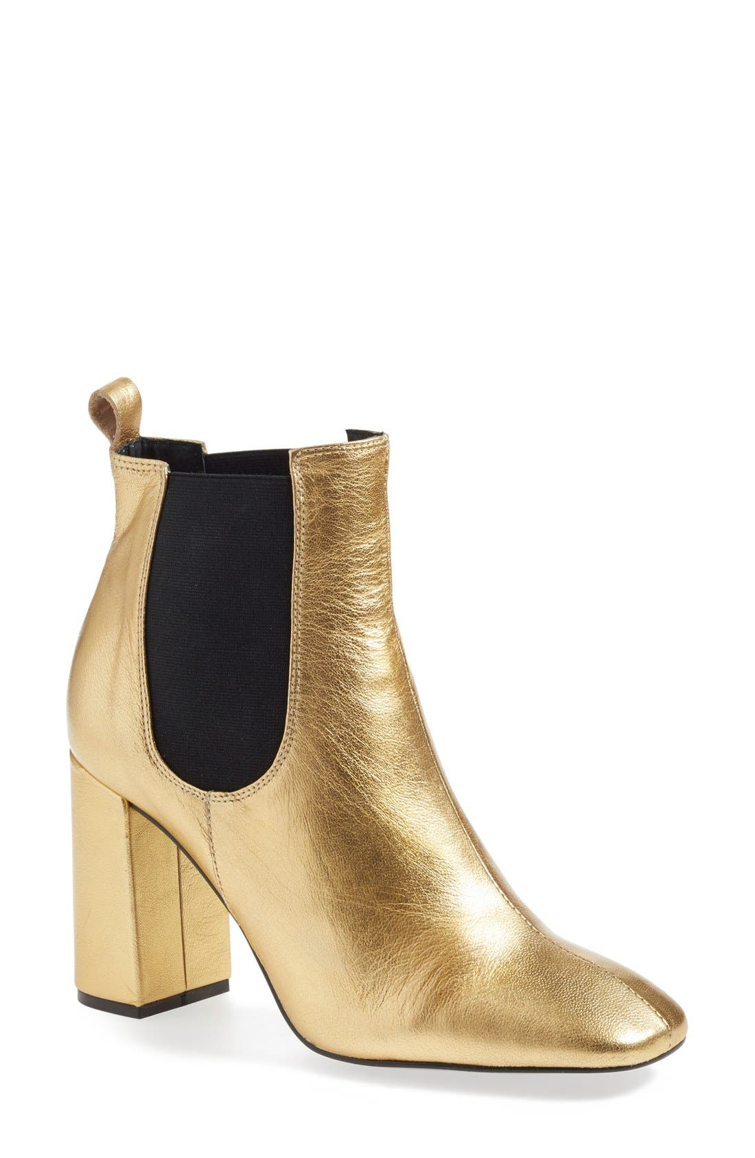 'Maria' Chelsea Block Heel Boot,                             Main thumbnail 1, color,                             710