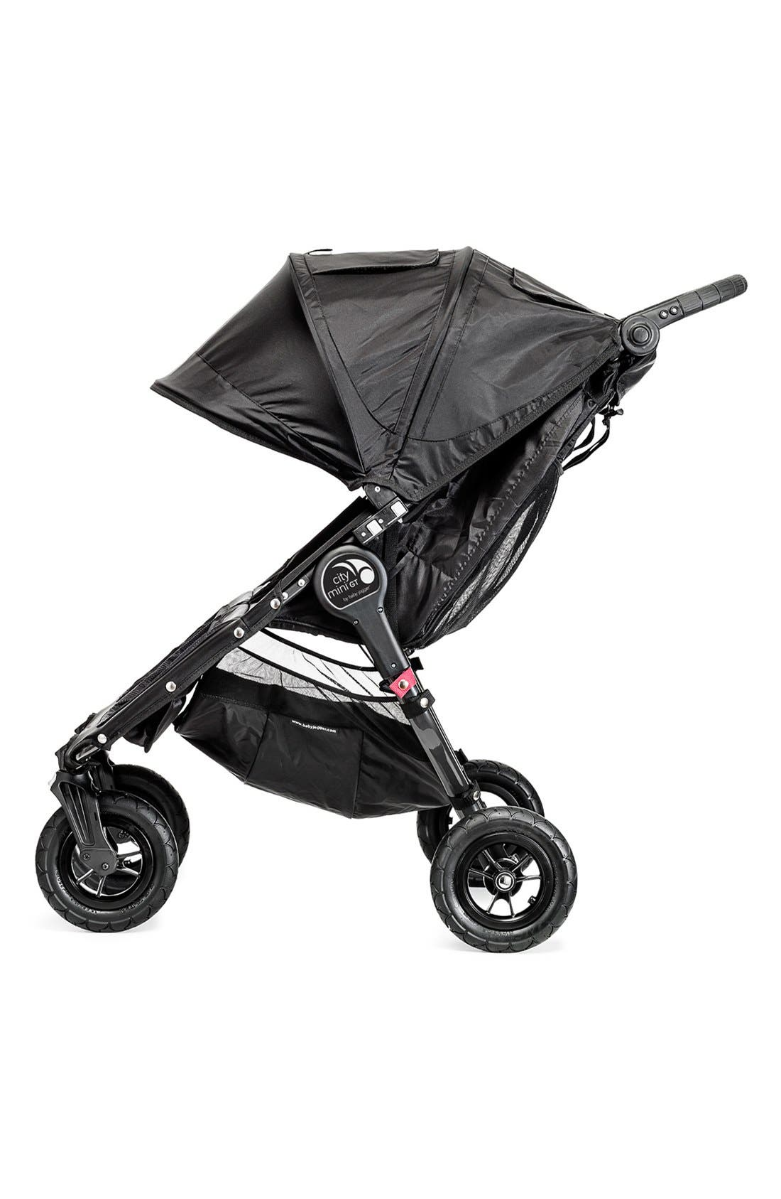 'City Mini GT<sup>™</sup>' Double Stroller,                             Alternate thumbnail 4, color,                             001