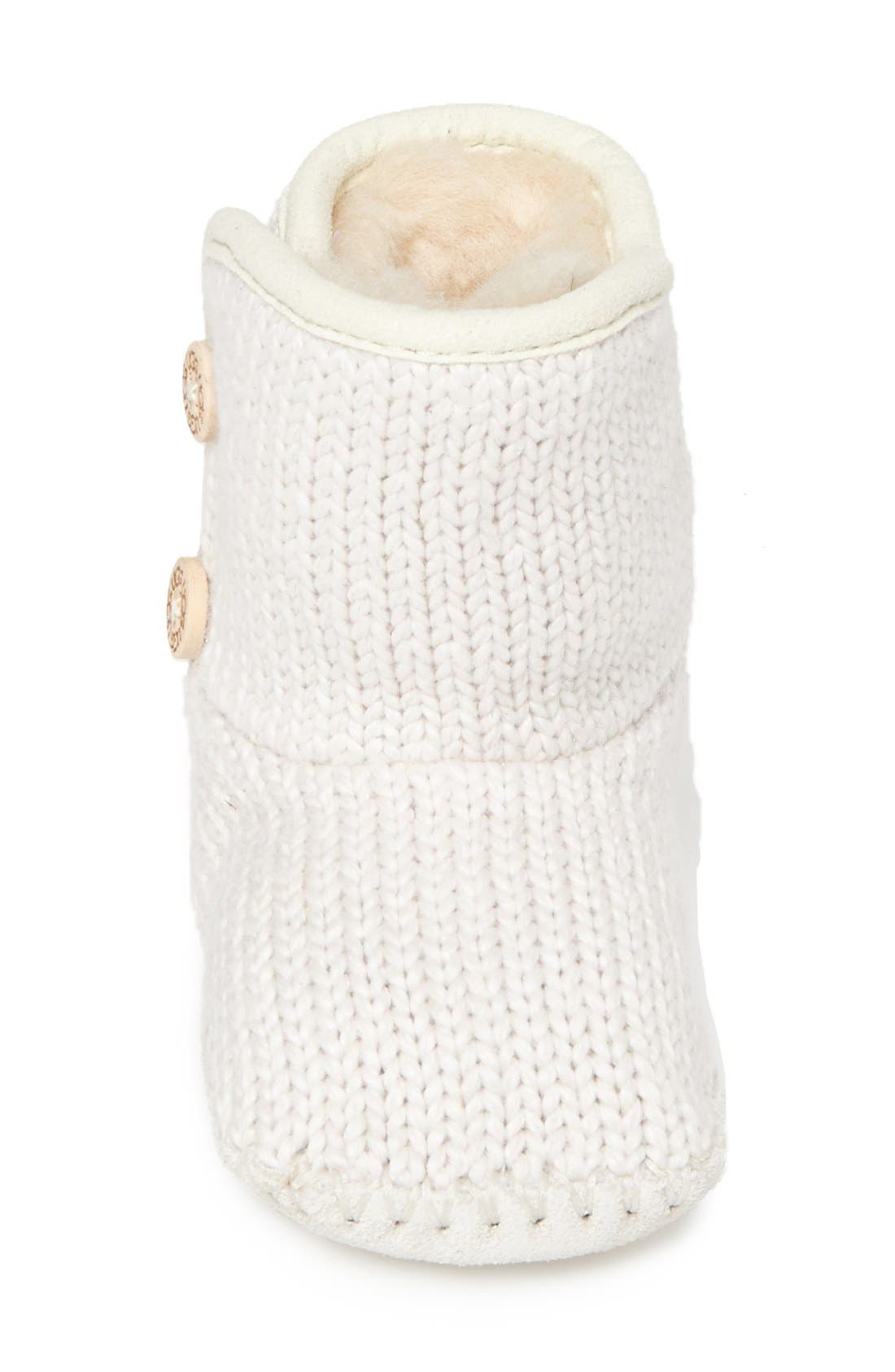 Purl Knit Bootie,                             Alternate thumbnail 4, color,                             924