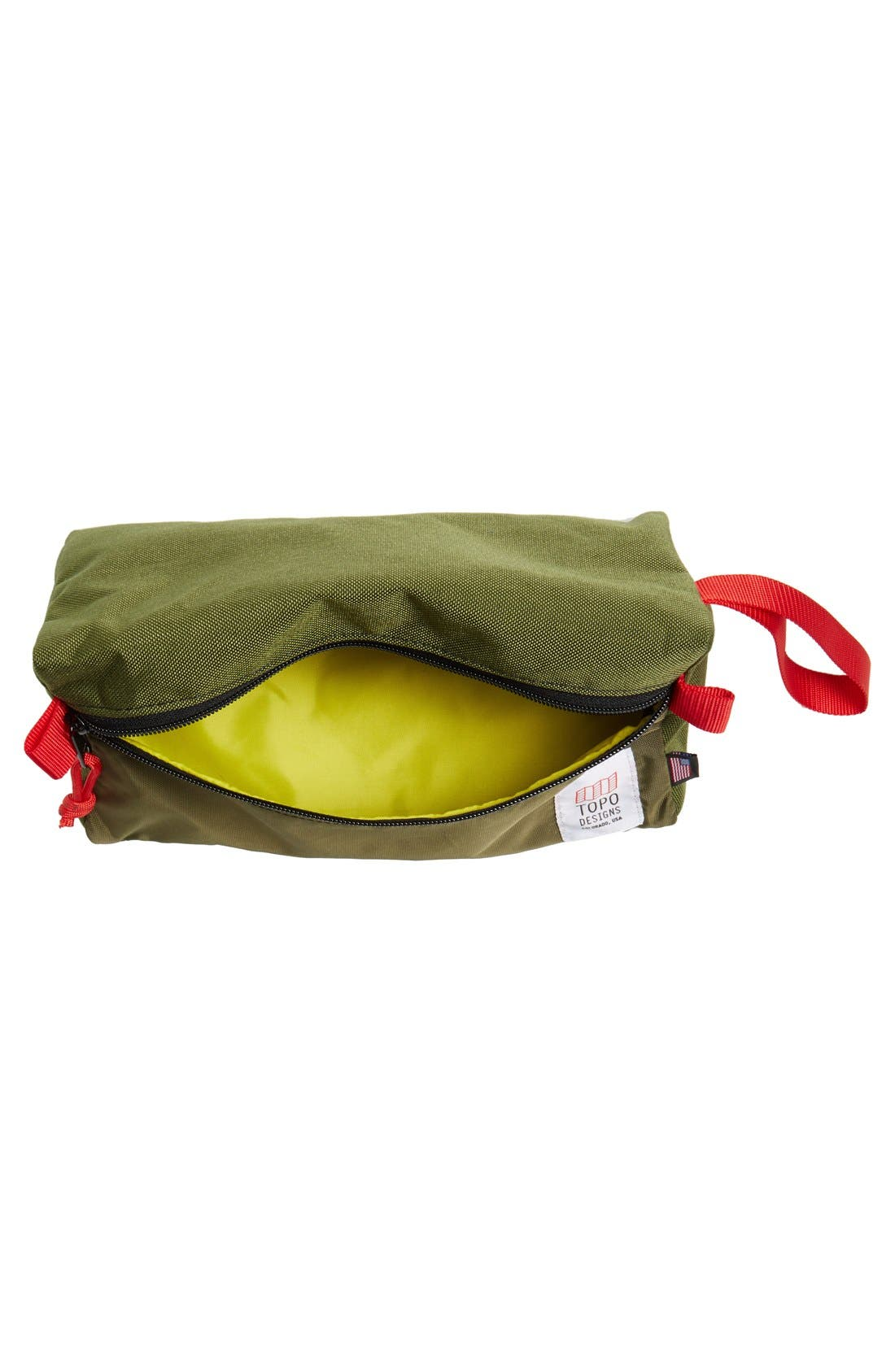 TOPO DESIGNS,                             Dopp Kit,                             Alternate thumbnail 2, color,                             OLIVE