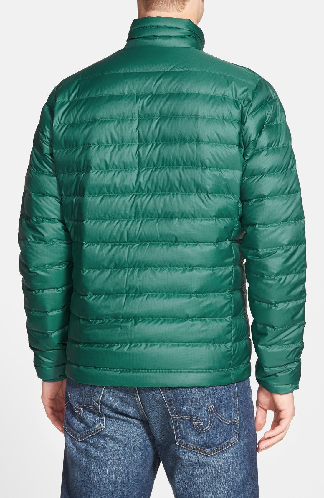 Water Repellent Down Jacket,                             Alternate thumbnail 33, color,