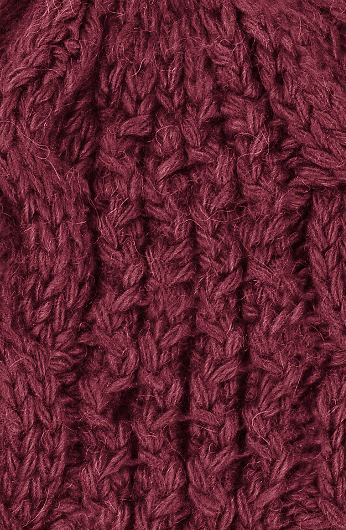 'Minna' Cable Knit Beanie,                             Alternate thumbnail 30, color,