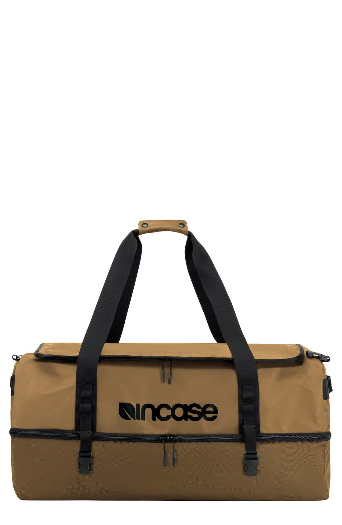 TRACTO Large Split Convertible Duffel Bag,                             Main thumbnail 3, color,