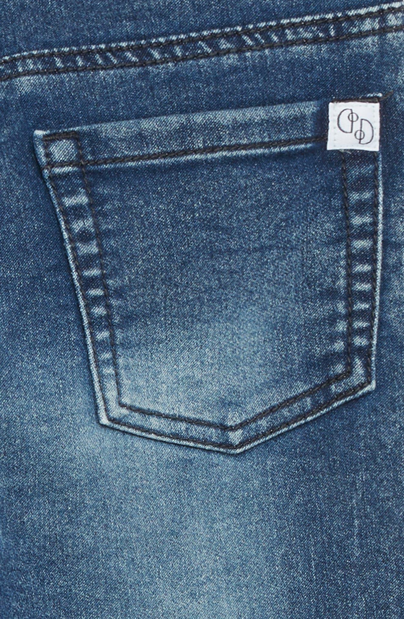 FLAPDOODLES,                             Knit Jeans,                             Alternate thumbnail 3, color,                             488