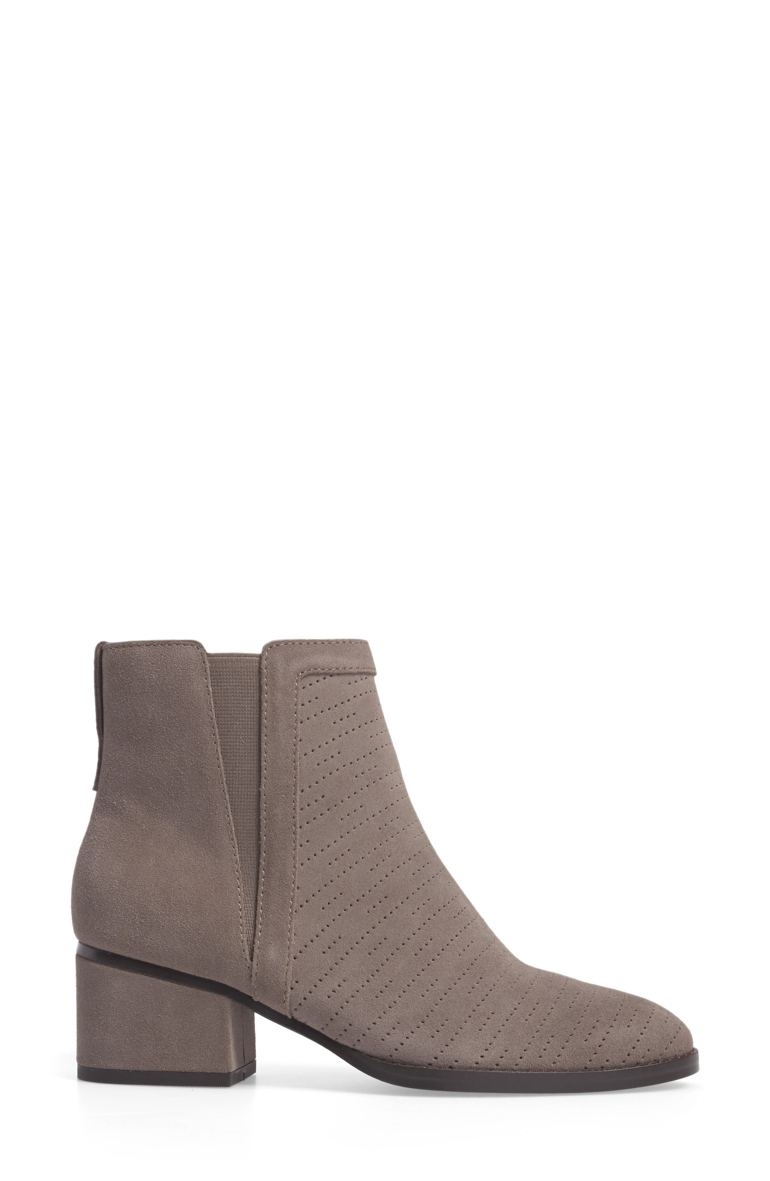 Rosalie Perforated Bootie,                             Alternate thumbnail 3, color,                             036