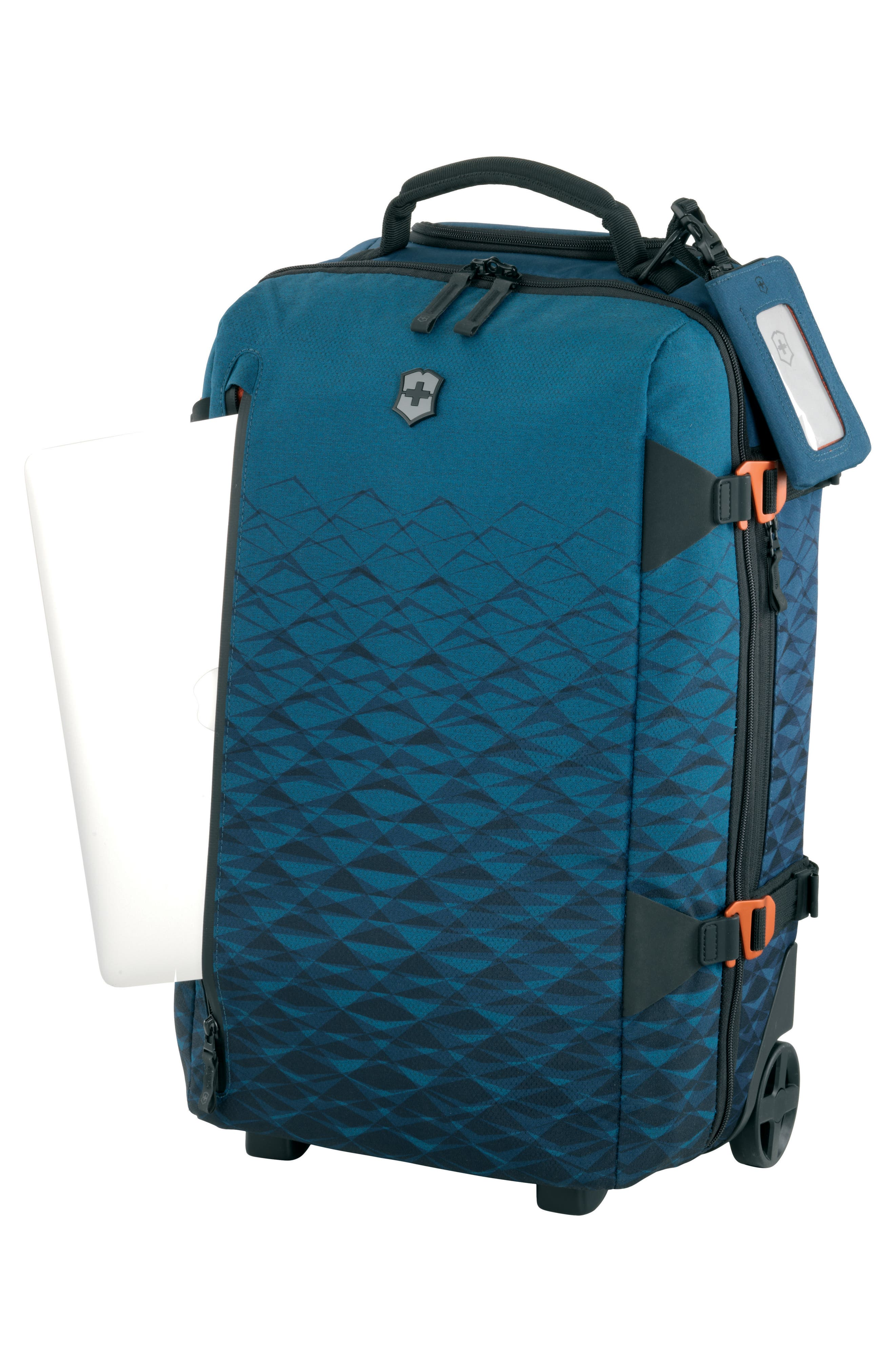 VICTORINOX SWISS ARMY<SUP>®</SUP>,                             VX Touring 22-Inch Carry-On,                             Alternate thumbnail 3, color,                             DARK TEAL
