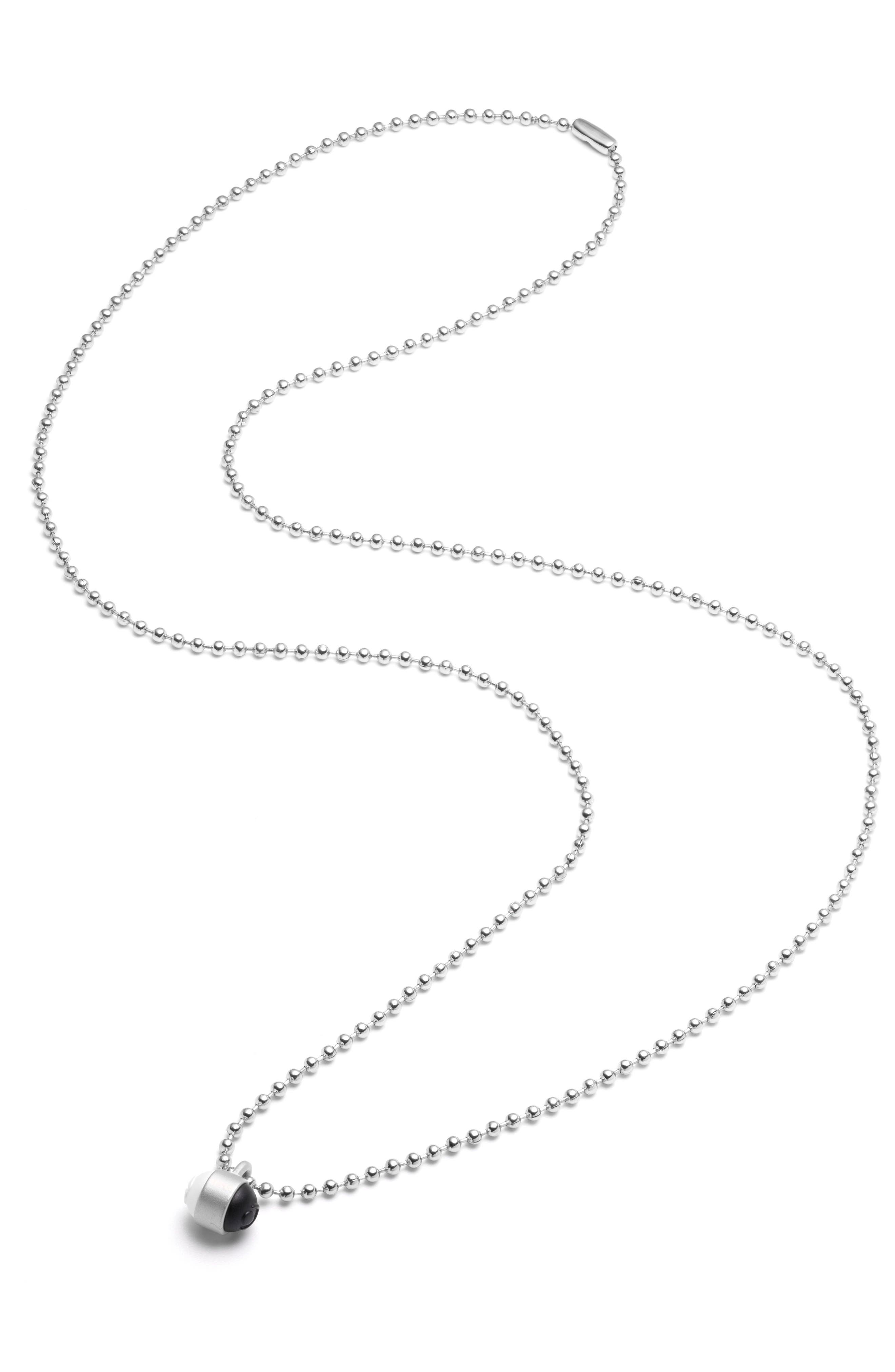 Pendant Ball Chain Necklace,                             Alternate thumbnail 11, color,