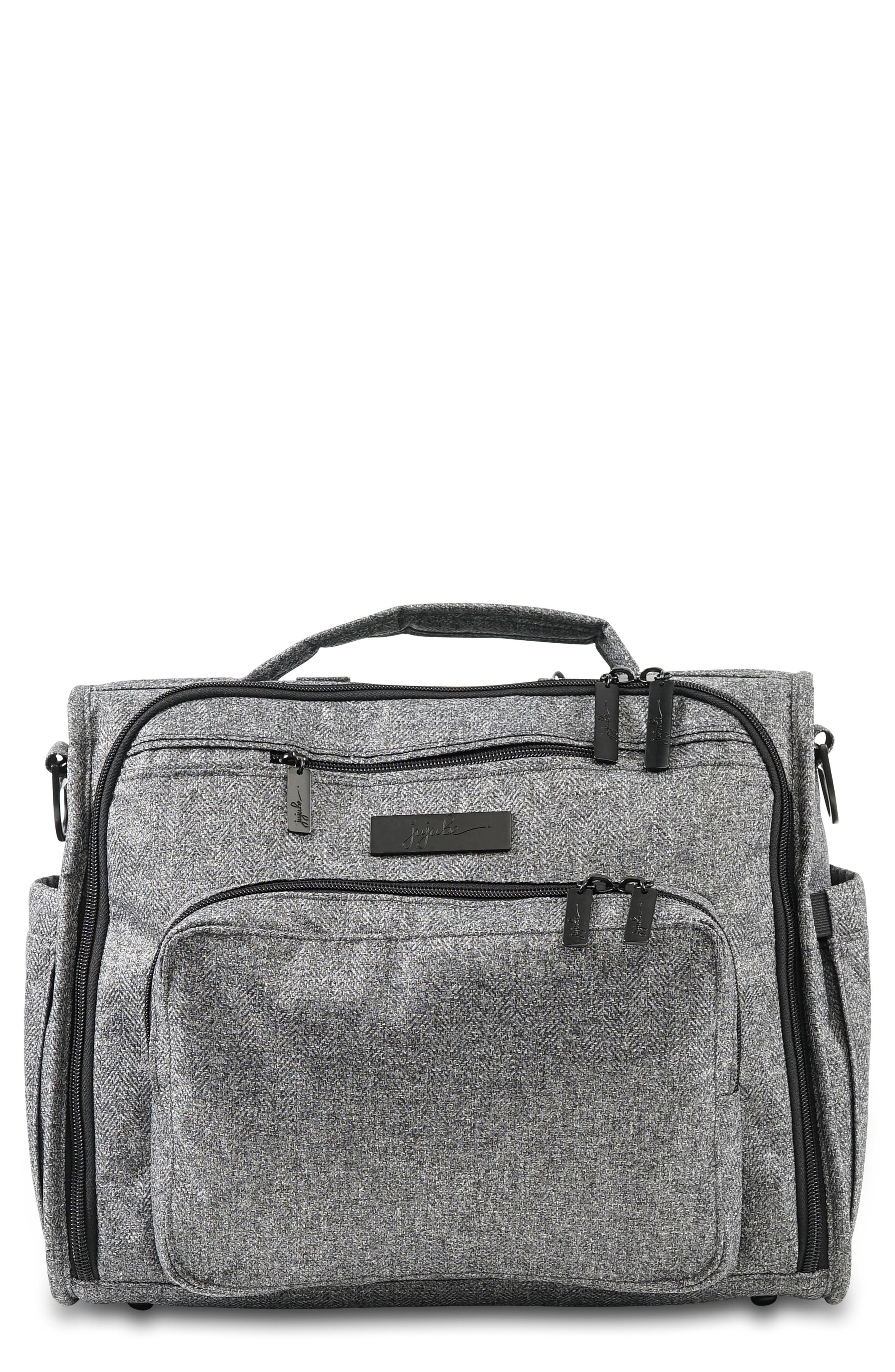 'BFF - Onyx Collection' Diaper Bag,                             Main thumbnail 1, color,                             GRAY MATTER