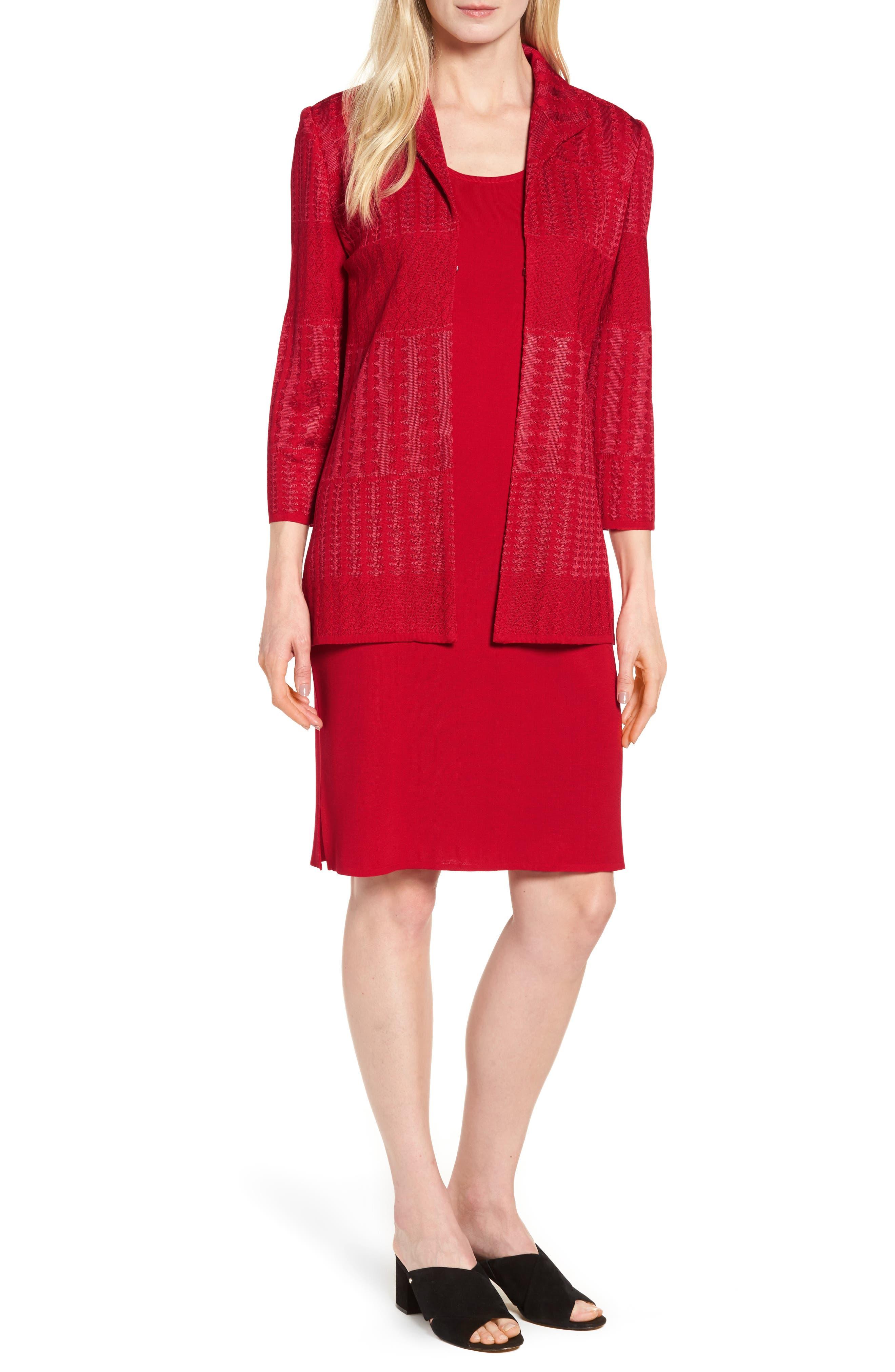 Knit Sheath Dress,                             Alternate thumbnail 7, color,                             608