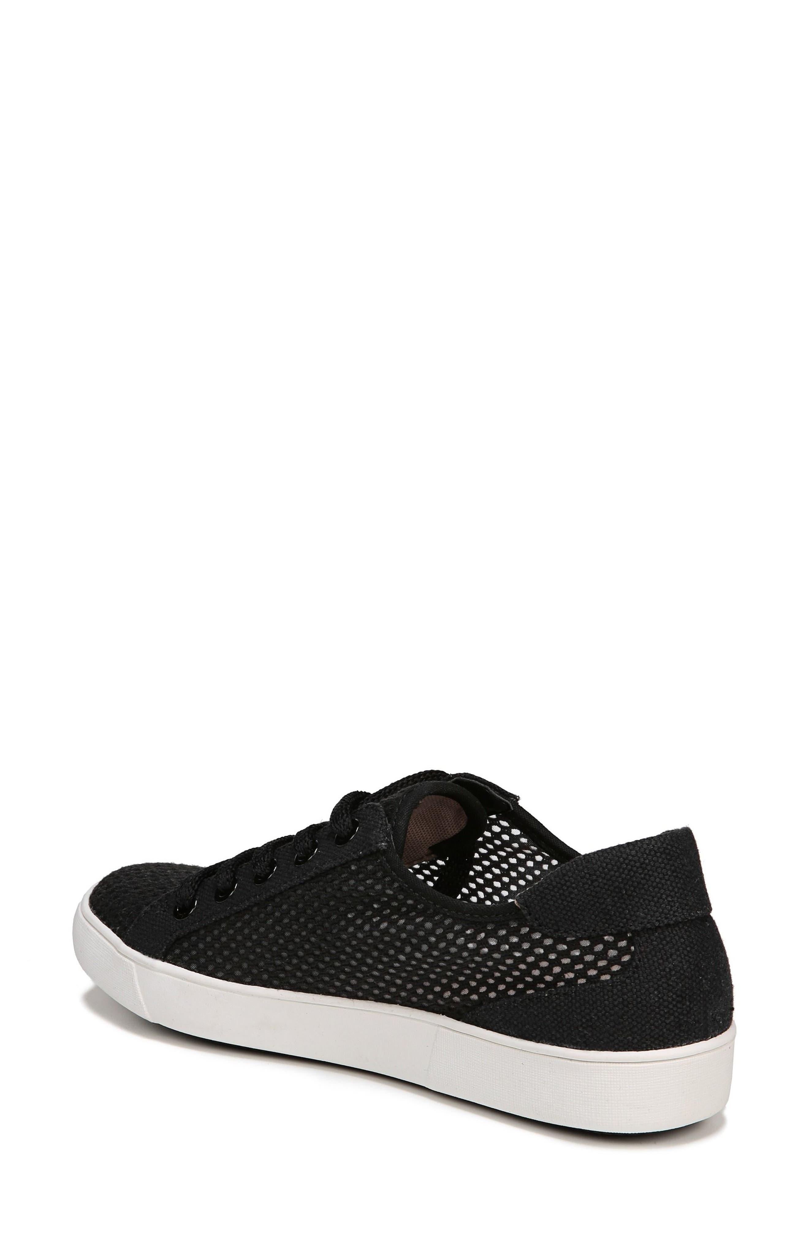 Morrison III Perforated Sneaker,                             Alternate thumbnail 2, color,                             BLACK FABRIC