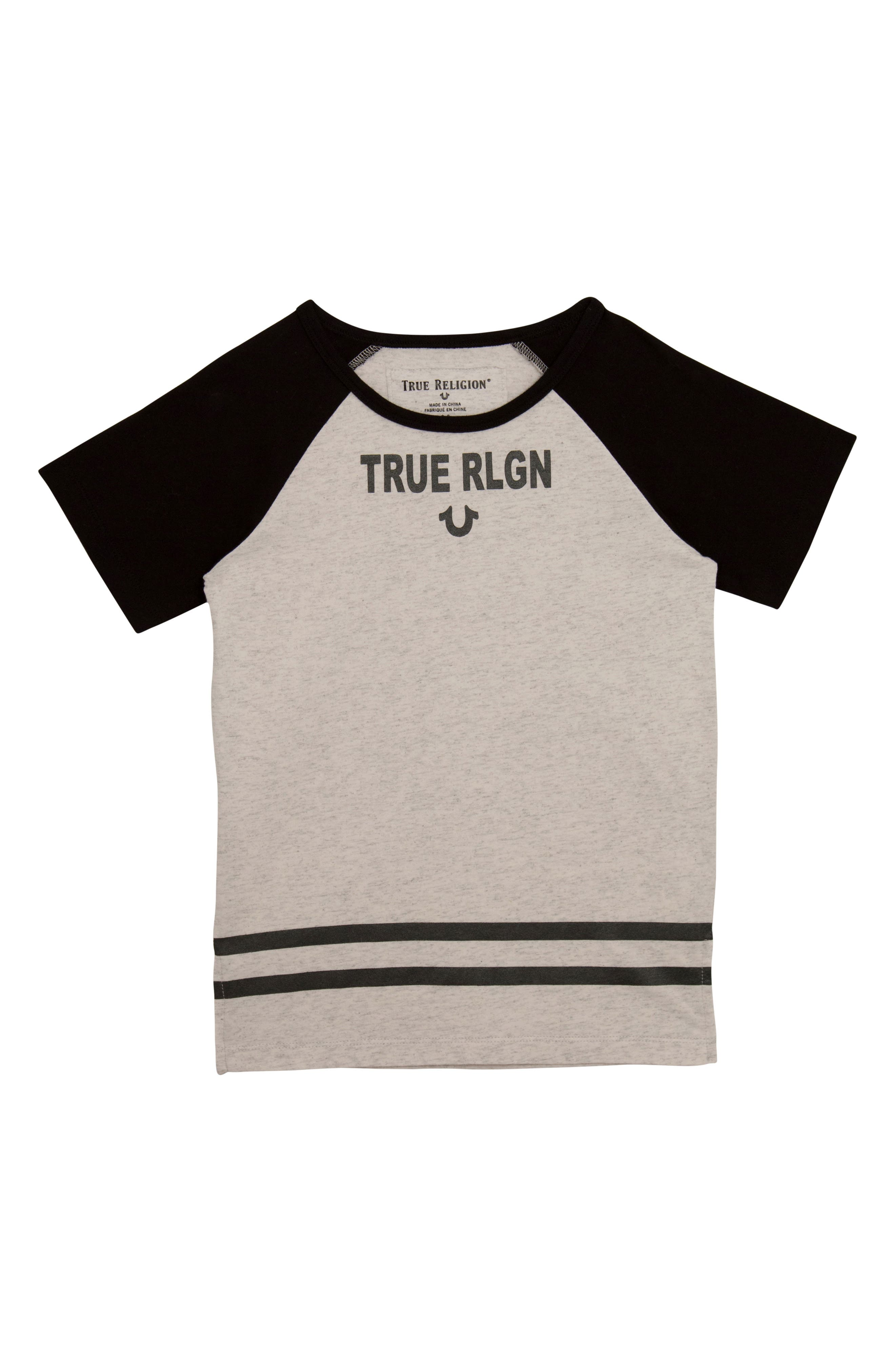 Logo Graphic T-Shirt,                         Main,                         color, WHITE HEATHER